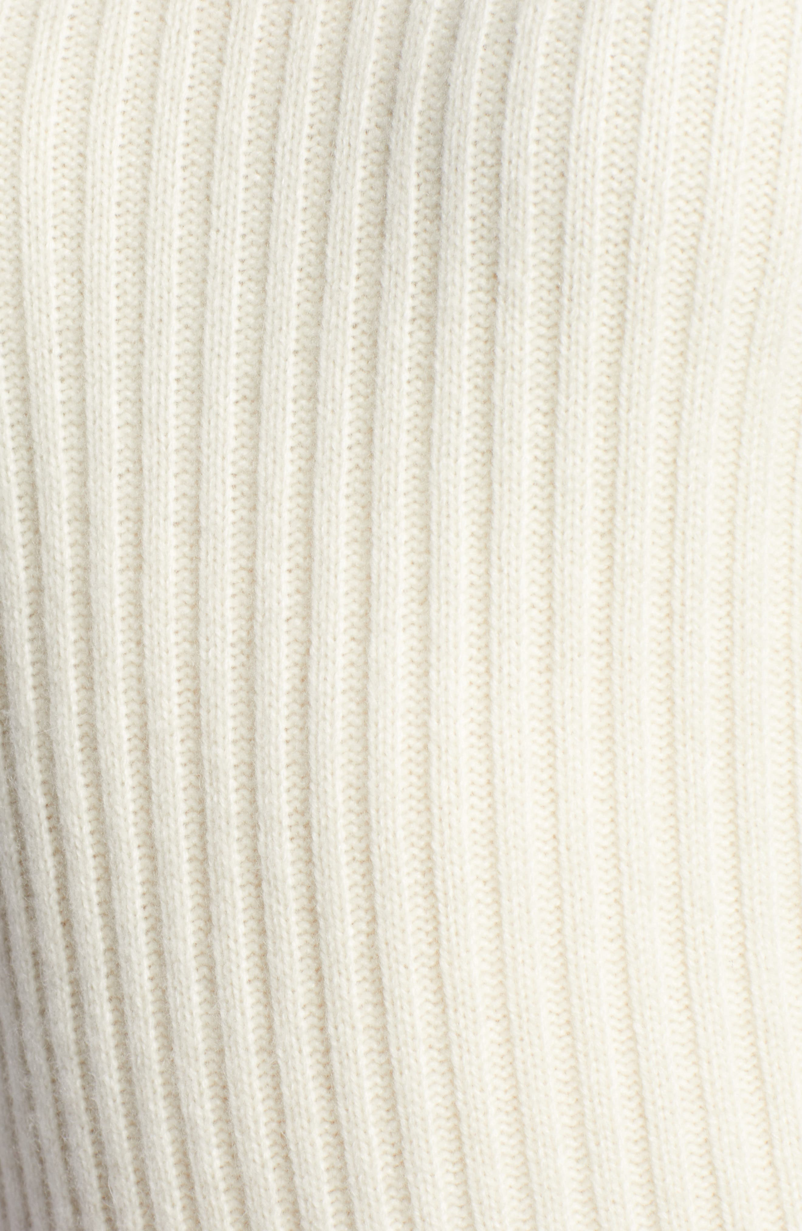 x Atlantic-Pacific Balloon Sleeve Wool & Cashmere Sweater,                             Alternate thumbnail 6, color,                             900