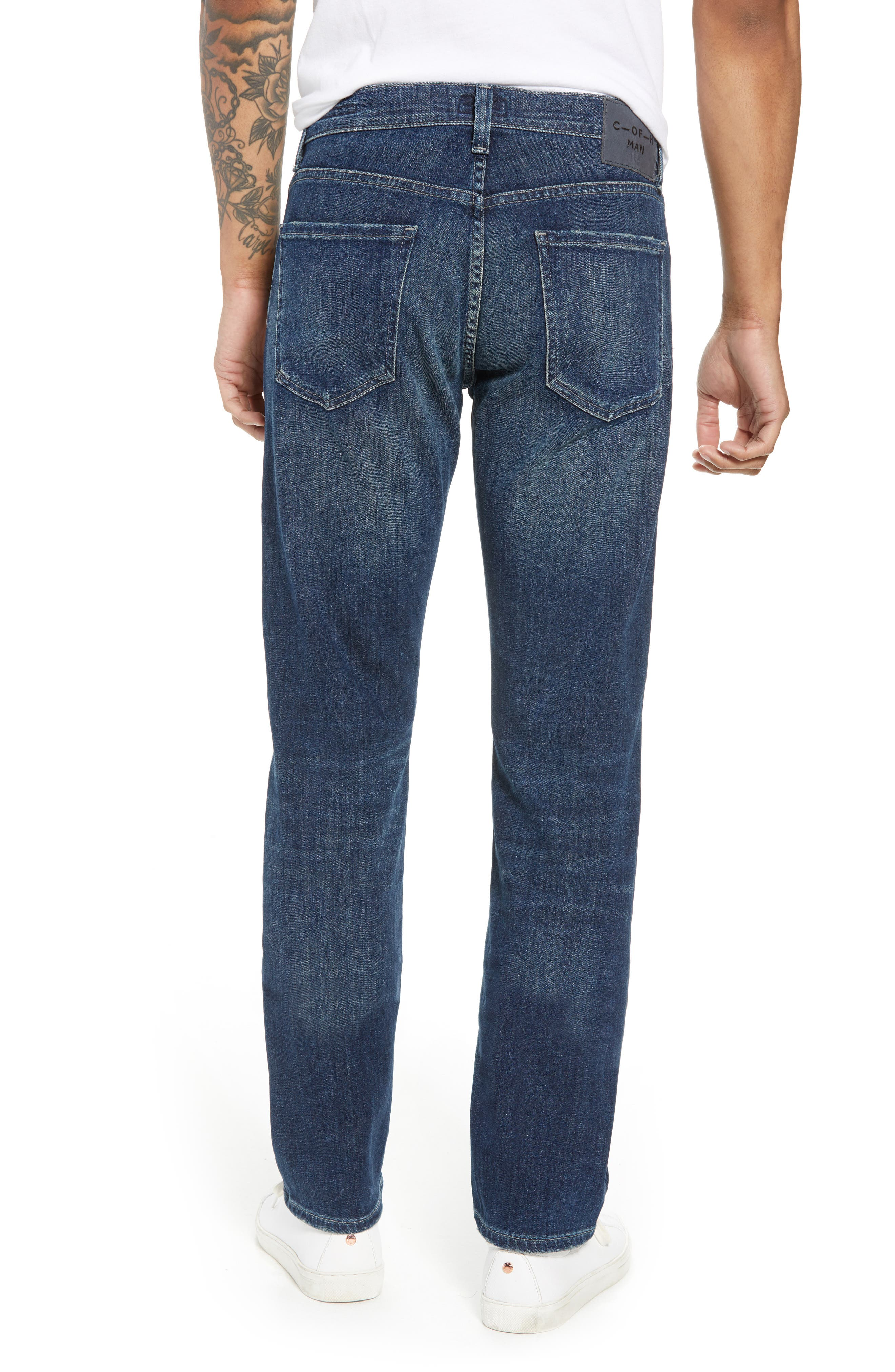 Core Slim Fit Jeans,                             Alternate thumbnail 2, color,                             ARENA