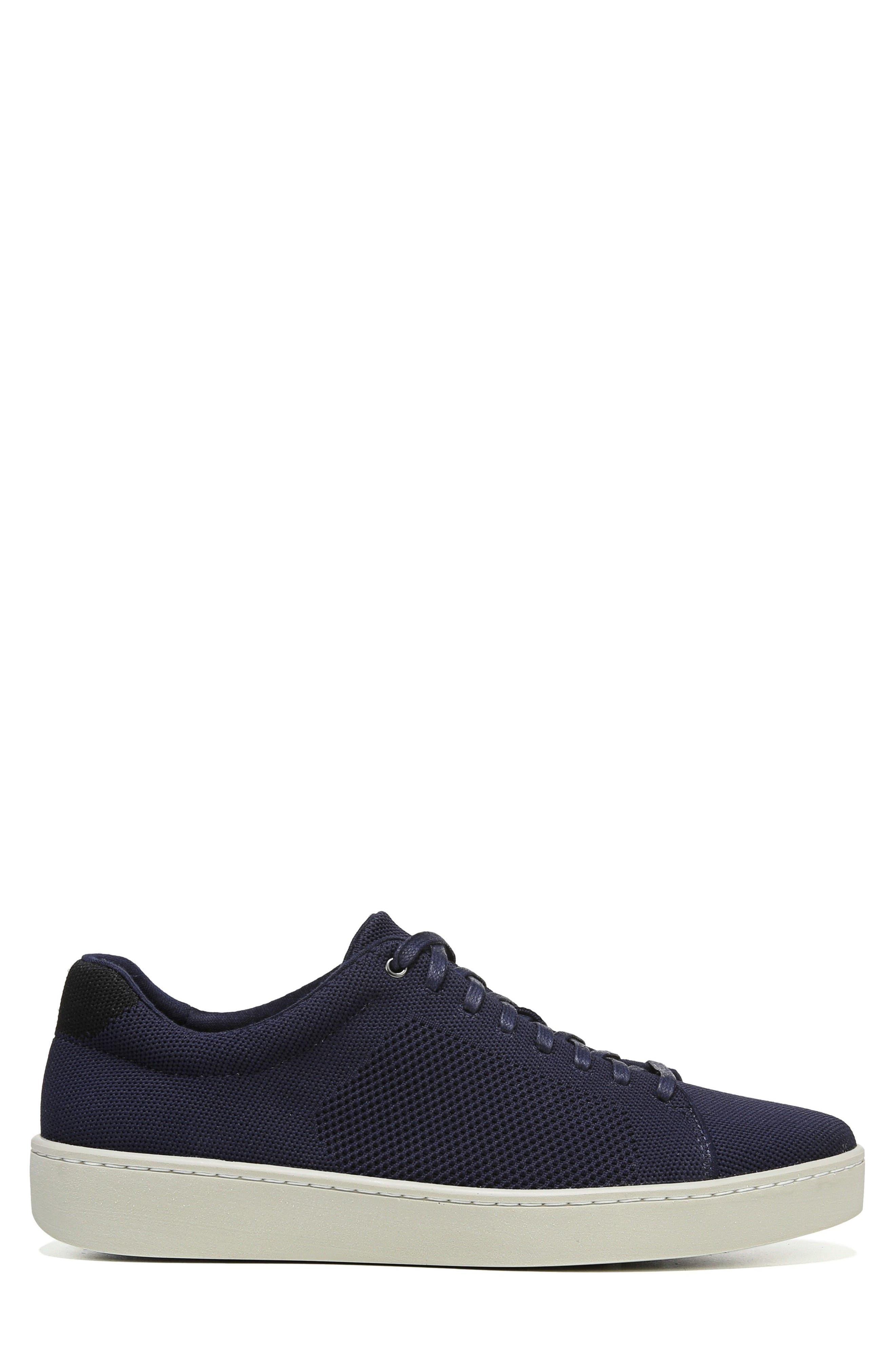 Silos Knit Low Top Sneaker,                             Alternate thumbnail 3, color,                             COASTAL