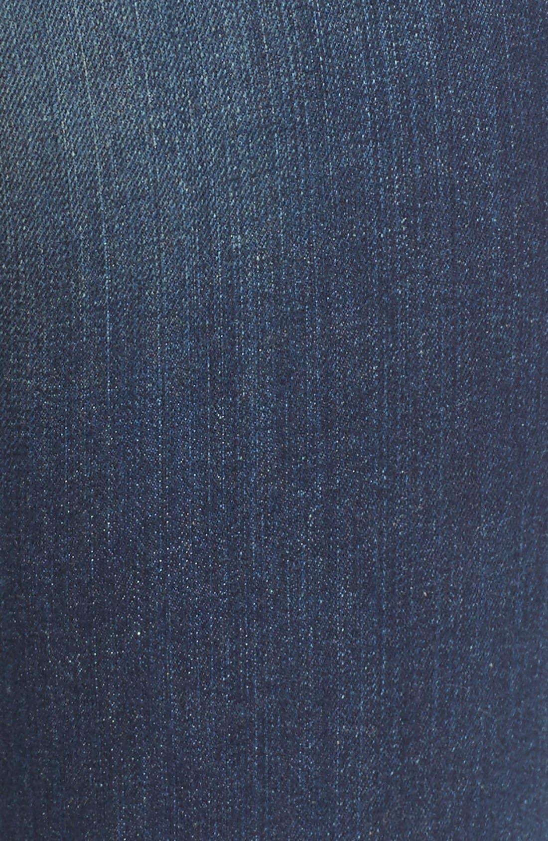 'Catherine' Slim Boyfriend Jeans,                             Alternate thumbnail 5, color,                             CAREFULNESS