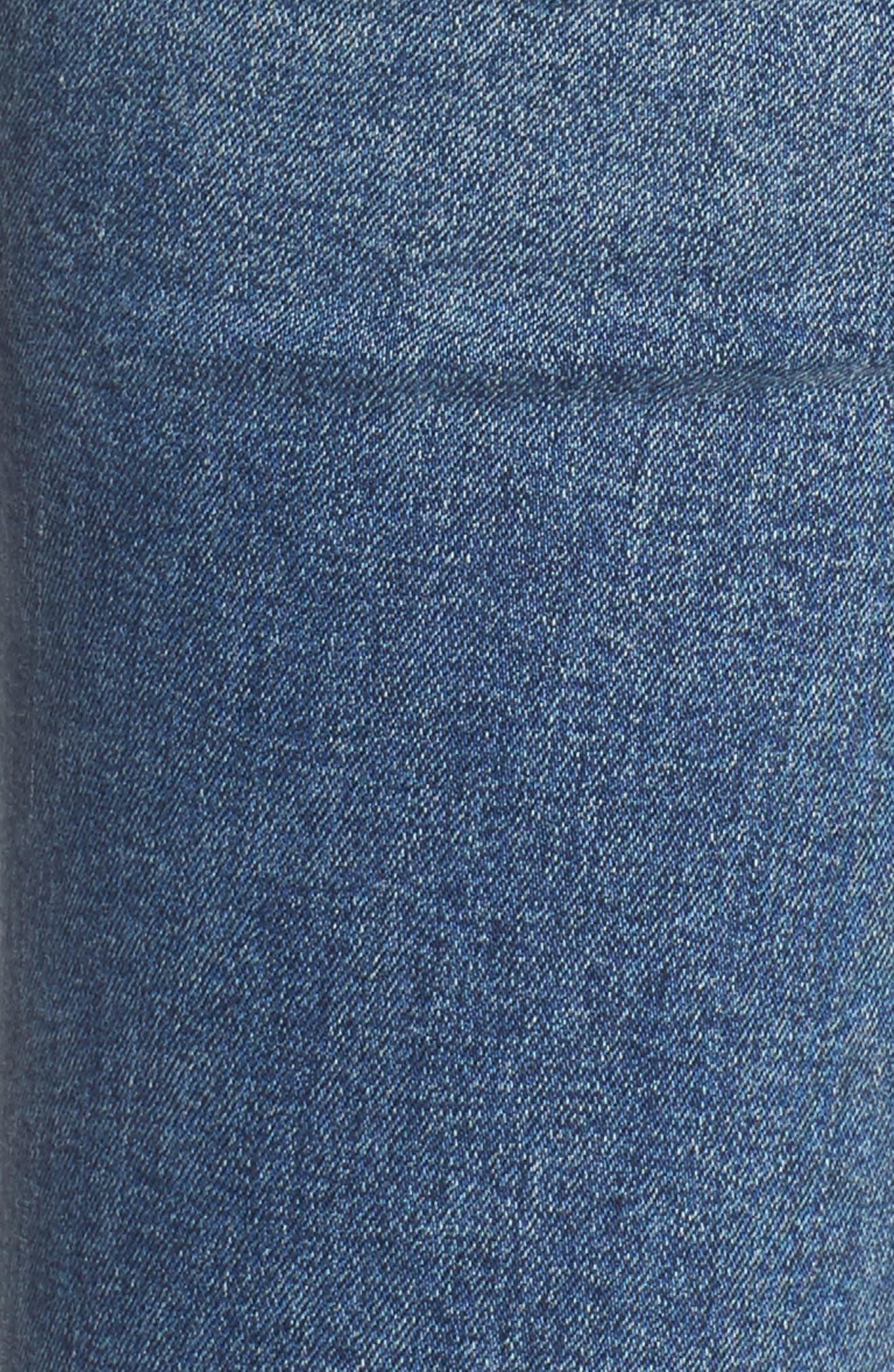 Rocket Crop Skinny Jeans,                             Alternate thumbnail 6, color,