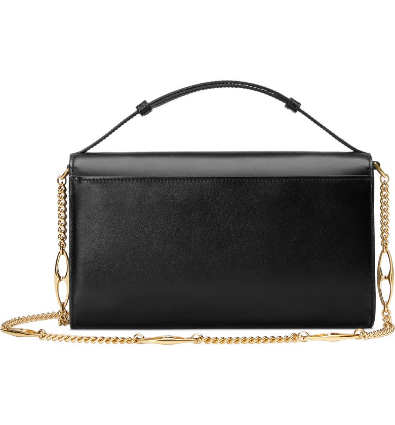 58944a17be11 Gucci Linea Zumi Small Leather Shoulder Bag | Nordstrom
