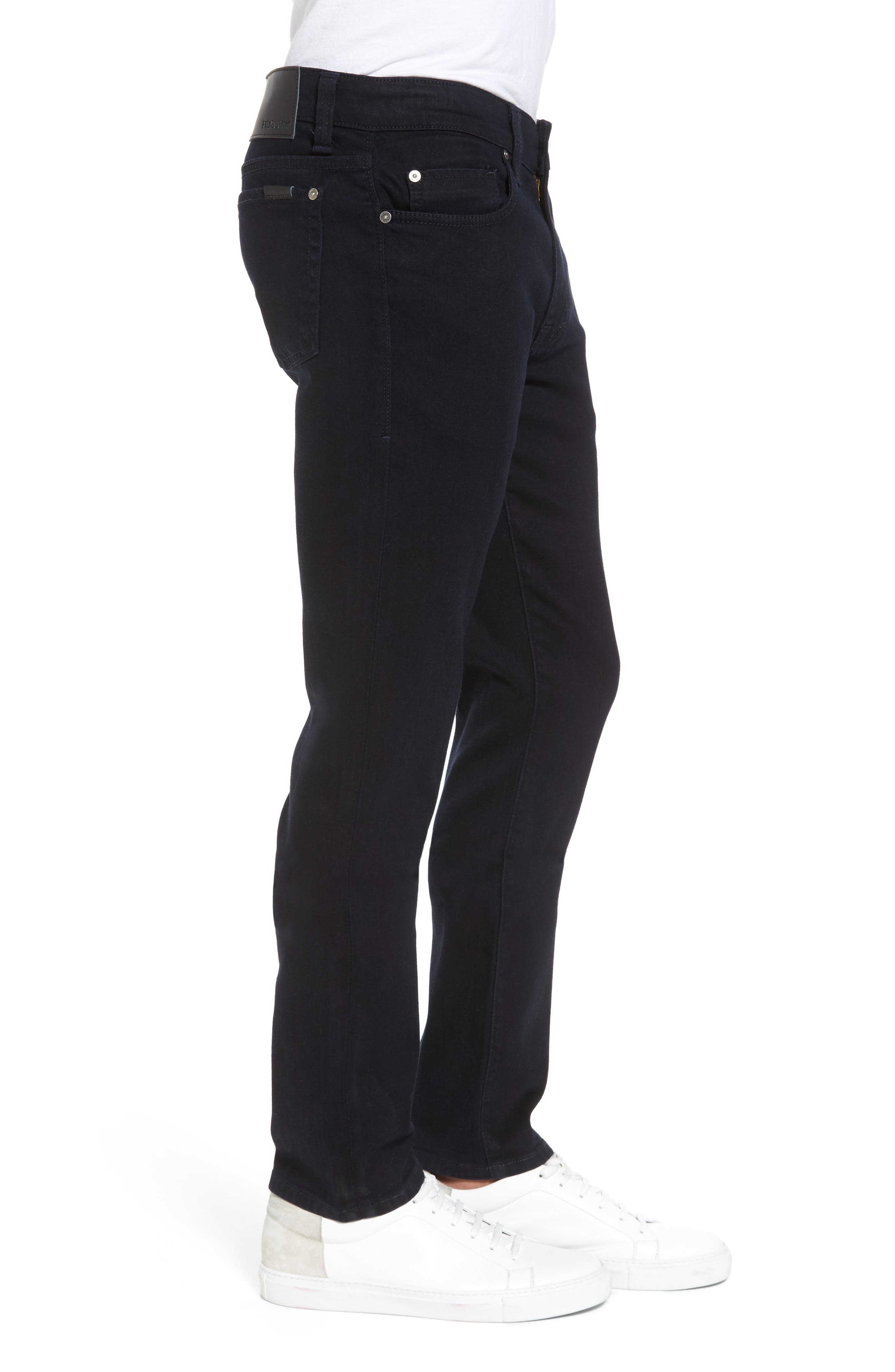 Torino Slim Fit Jeans,                             Alternate thumbnail 3, color,                             EVERBLUE