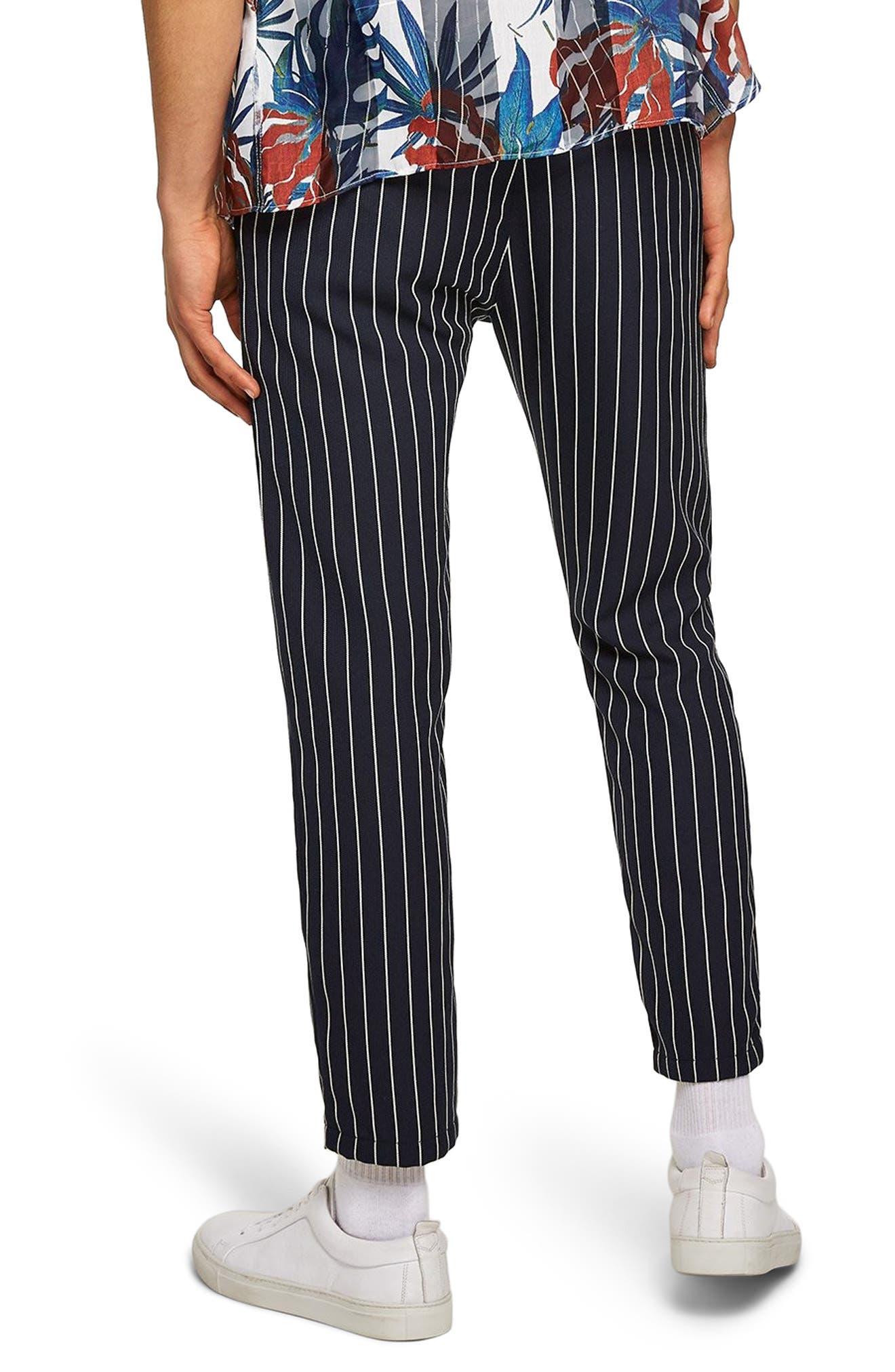 Pinstripe Woven Jogger Pants,                             Alternate thumbnail 2, color,                             400