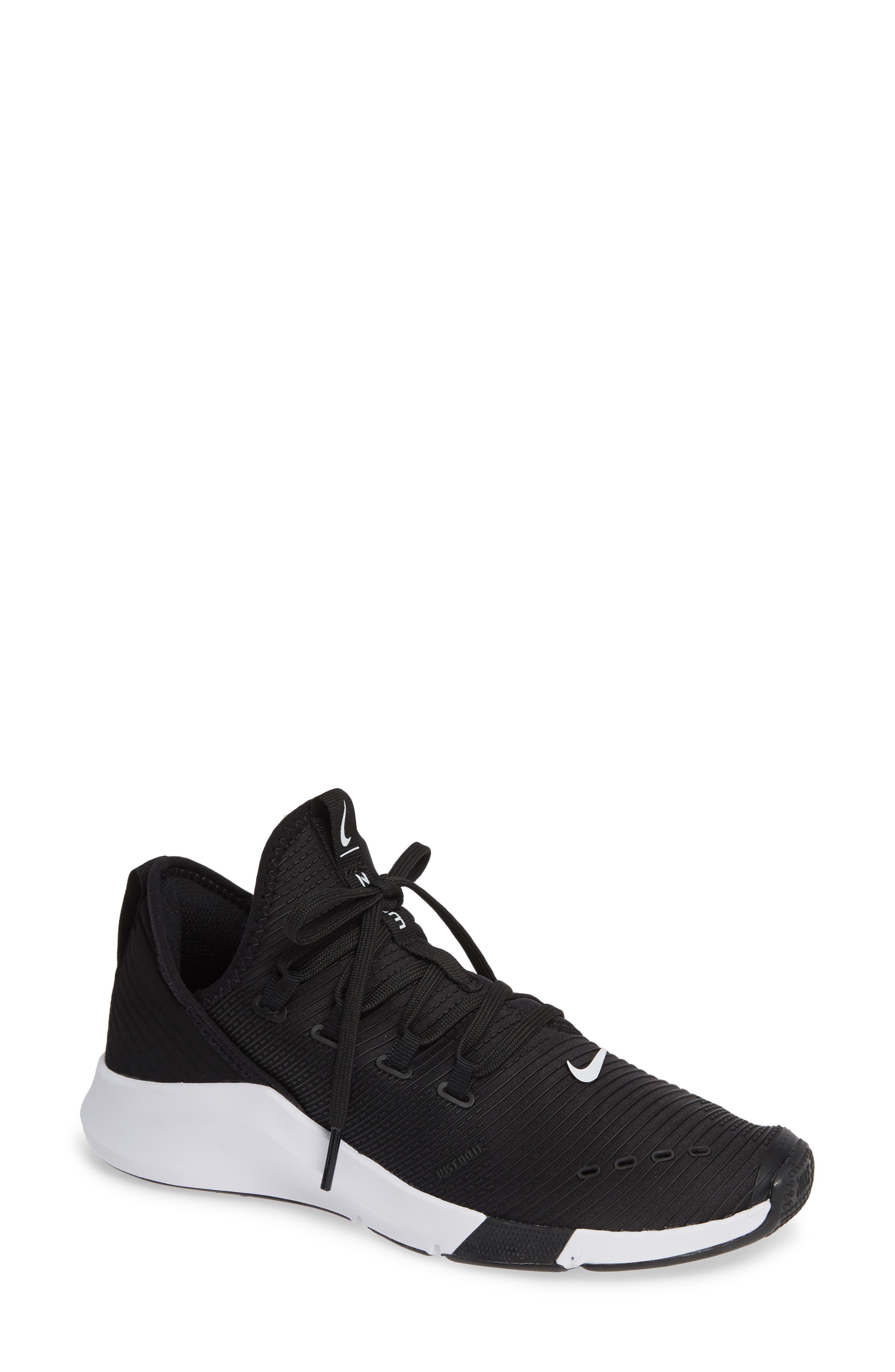 Air Zoom Elevate Training Shoe,                             Main thumbnail 1, color,                             BLACK/ WHITE