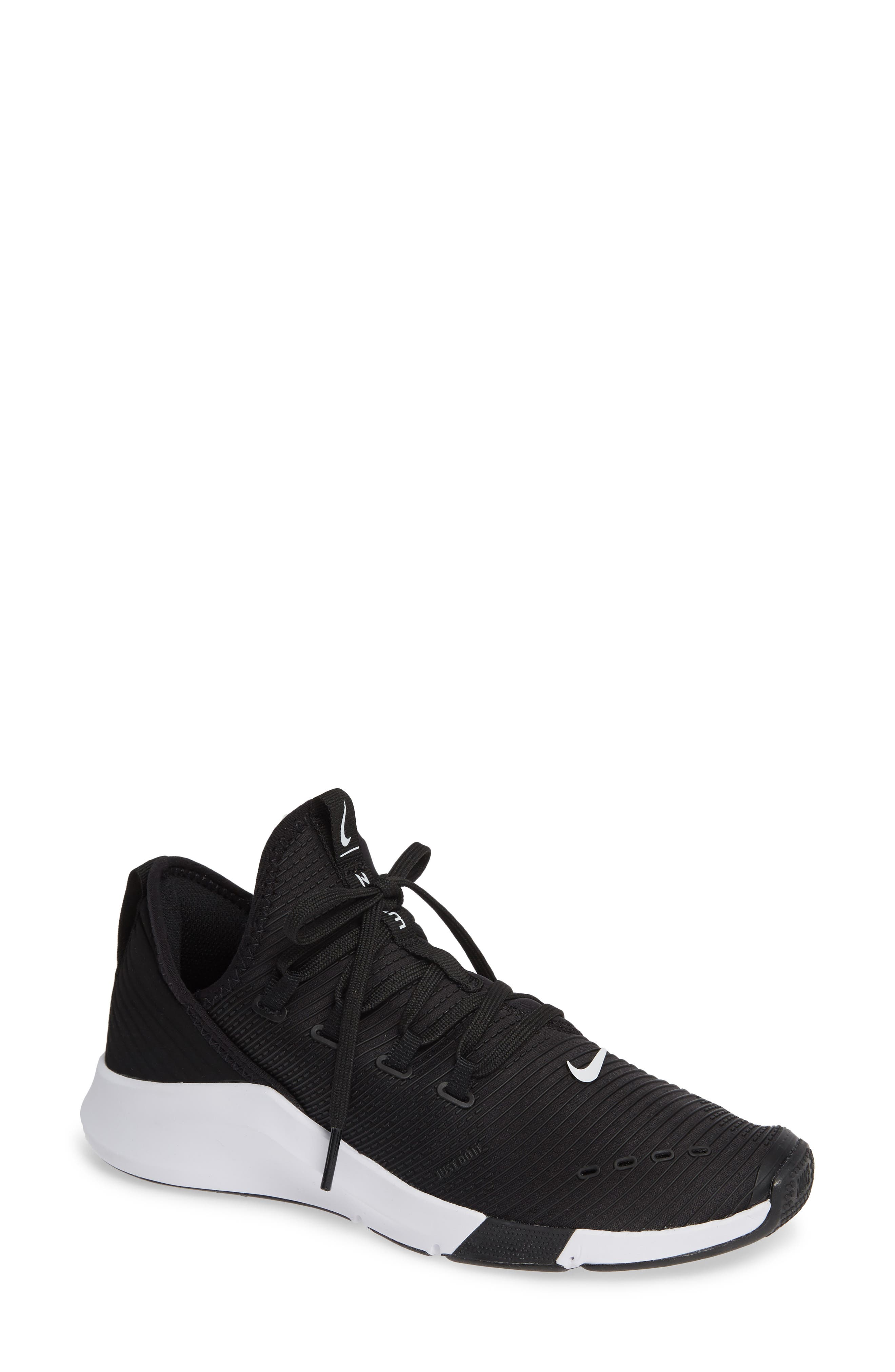 Air Zoom Elevate Training Shoe,                         Main,                         color, BLACK/ WHITE