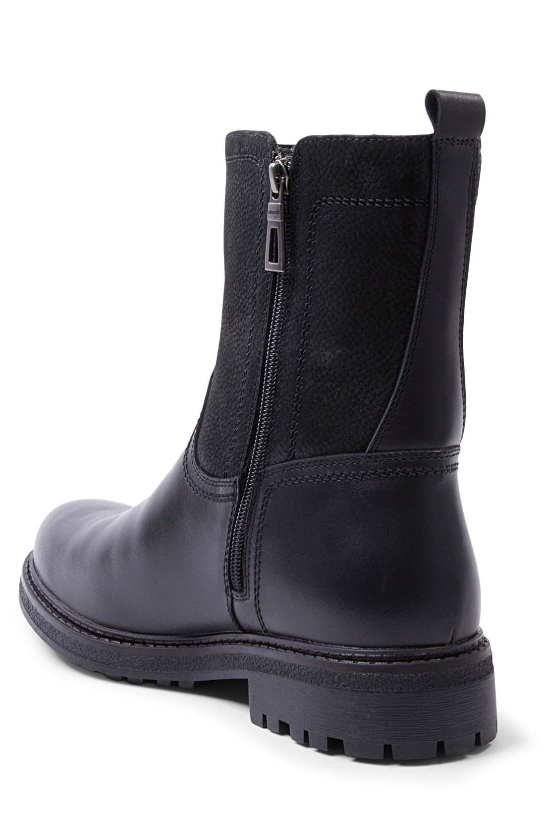 'Jagger' Waterproof Zip Boot,                             Alternate thumbnail 2, color,                             001