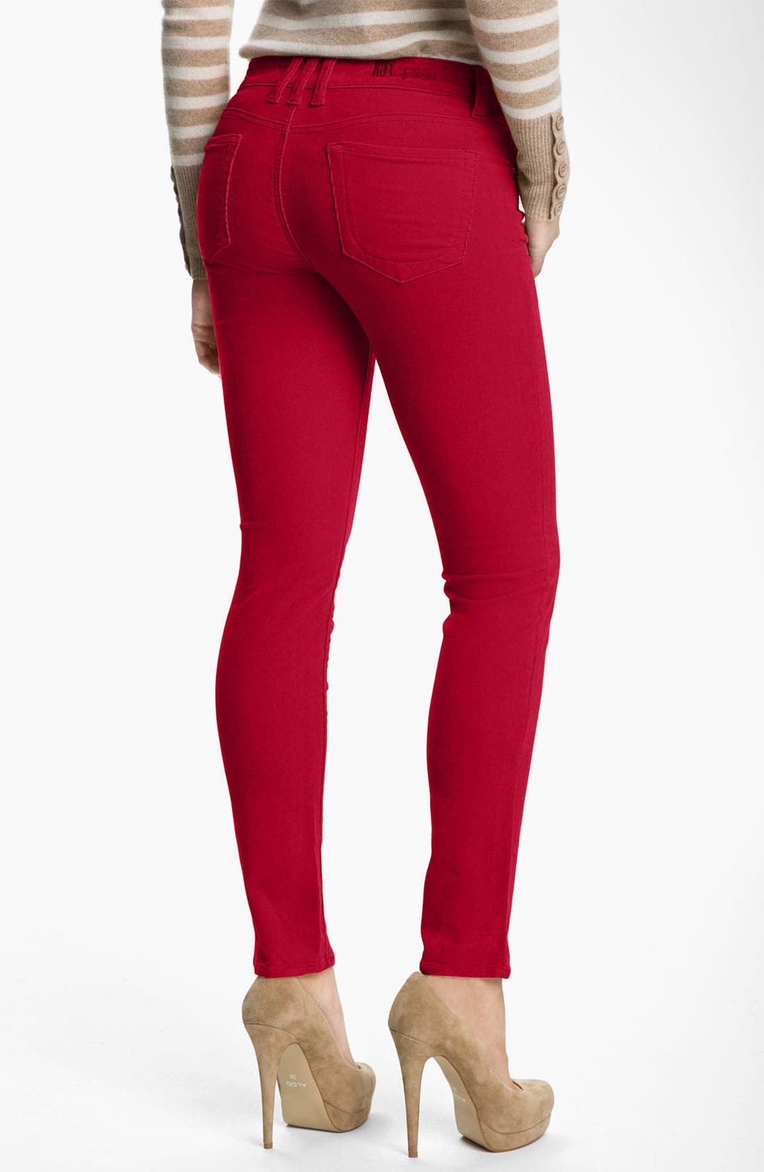 'Diana' Stretch Corduroy Skinny Pants,                             Alternate thumbnail 94, color,