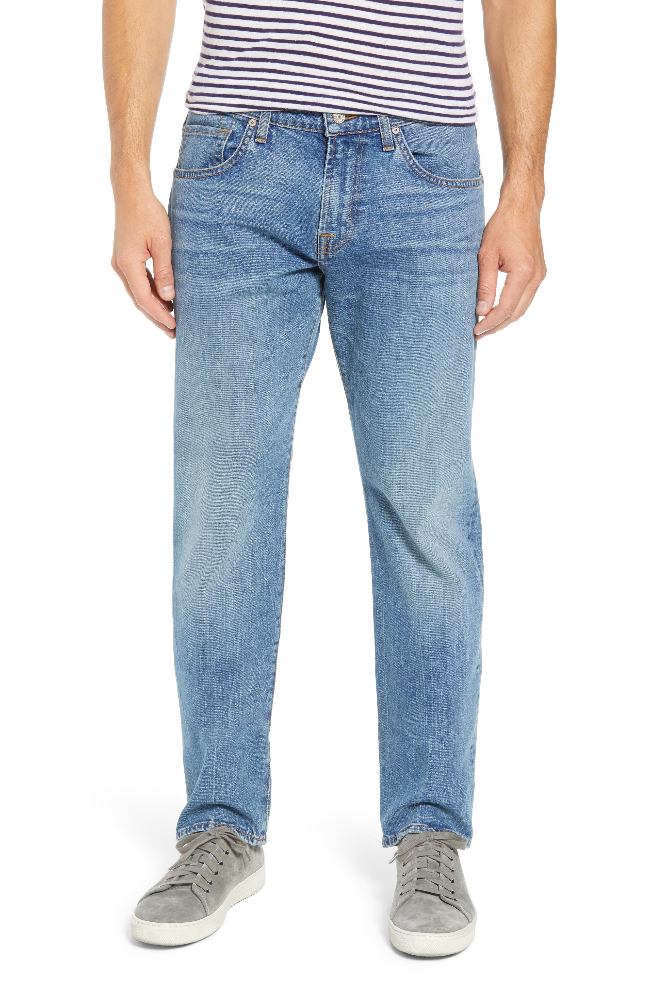 The Straight Slim Straight Leg Jeans,                             Main thumbnail 1, color,                             400