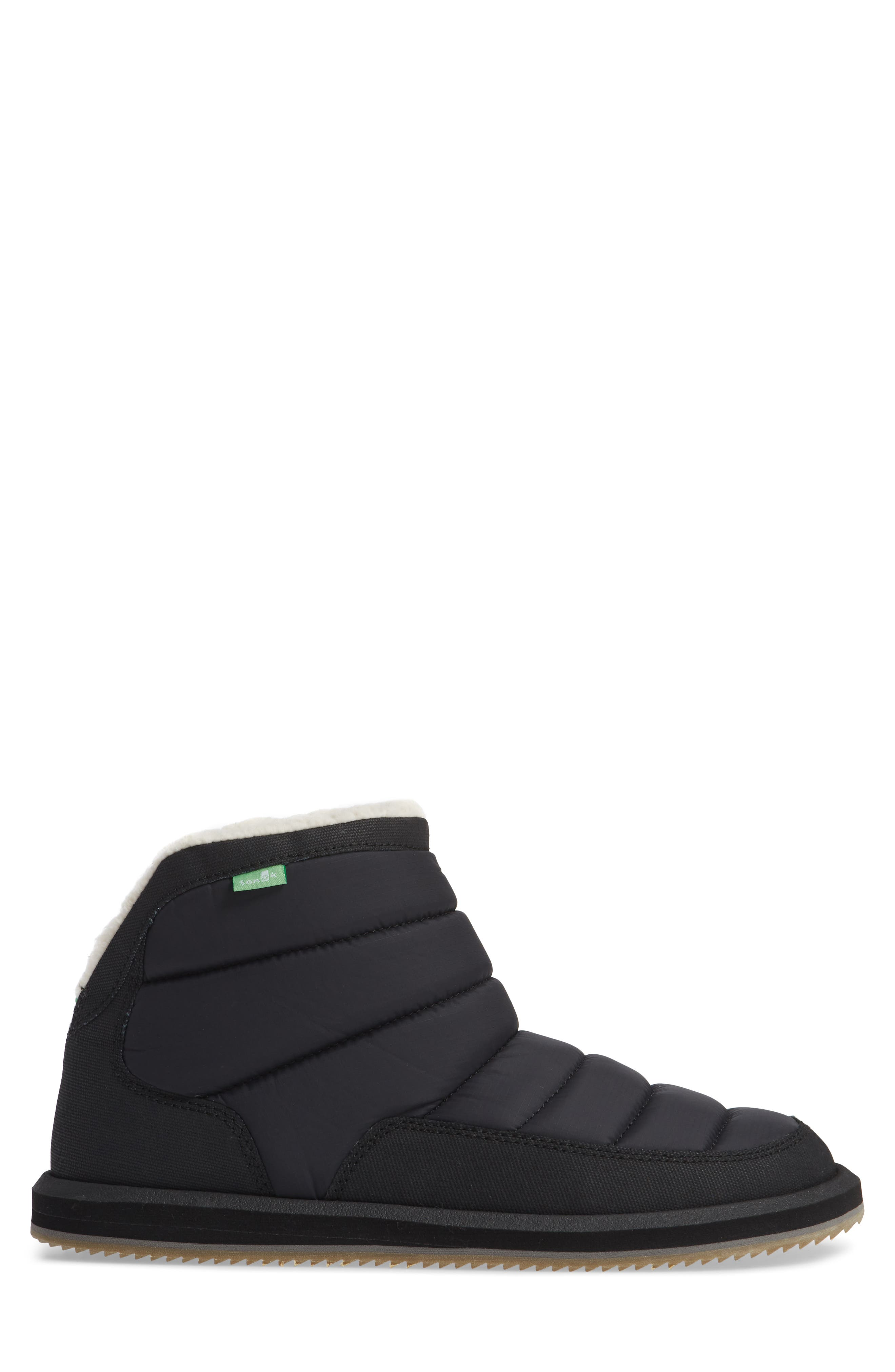 Puff & Chill Weather Boot,                             Alternate thumbnail 3, color,                             BLACK