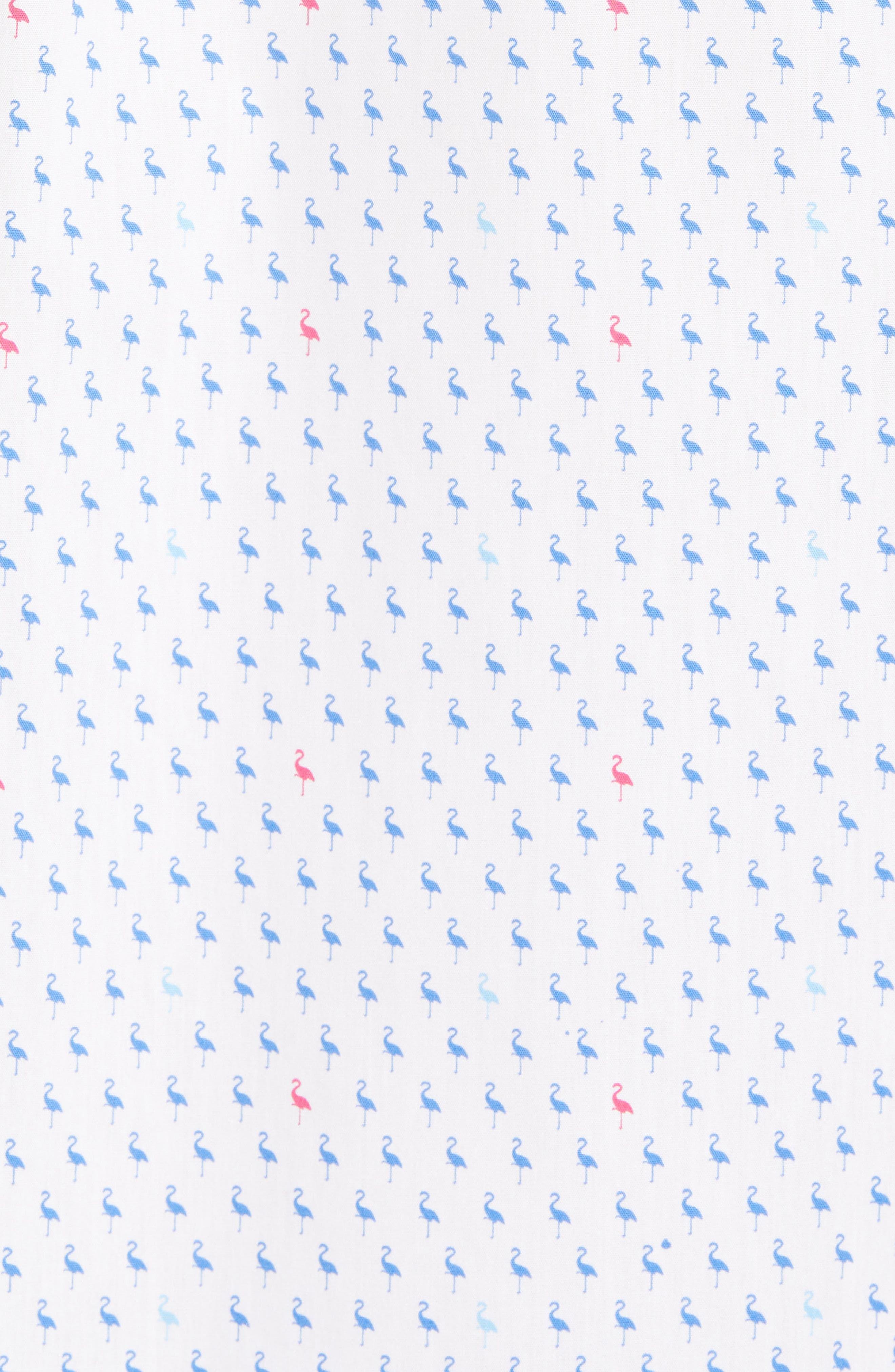 Arrie Regular Fit Print Sport Shirt,                             Alternate thumbnail 5, color,                             490