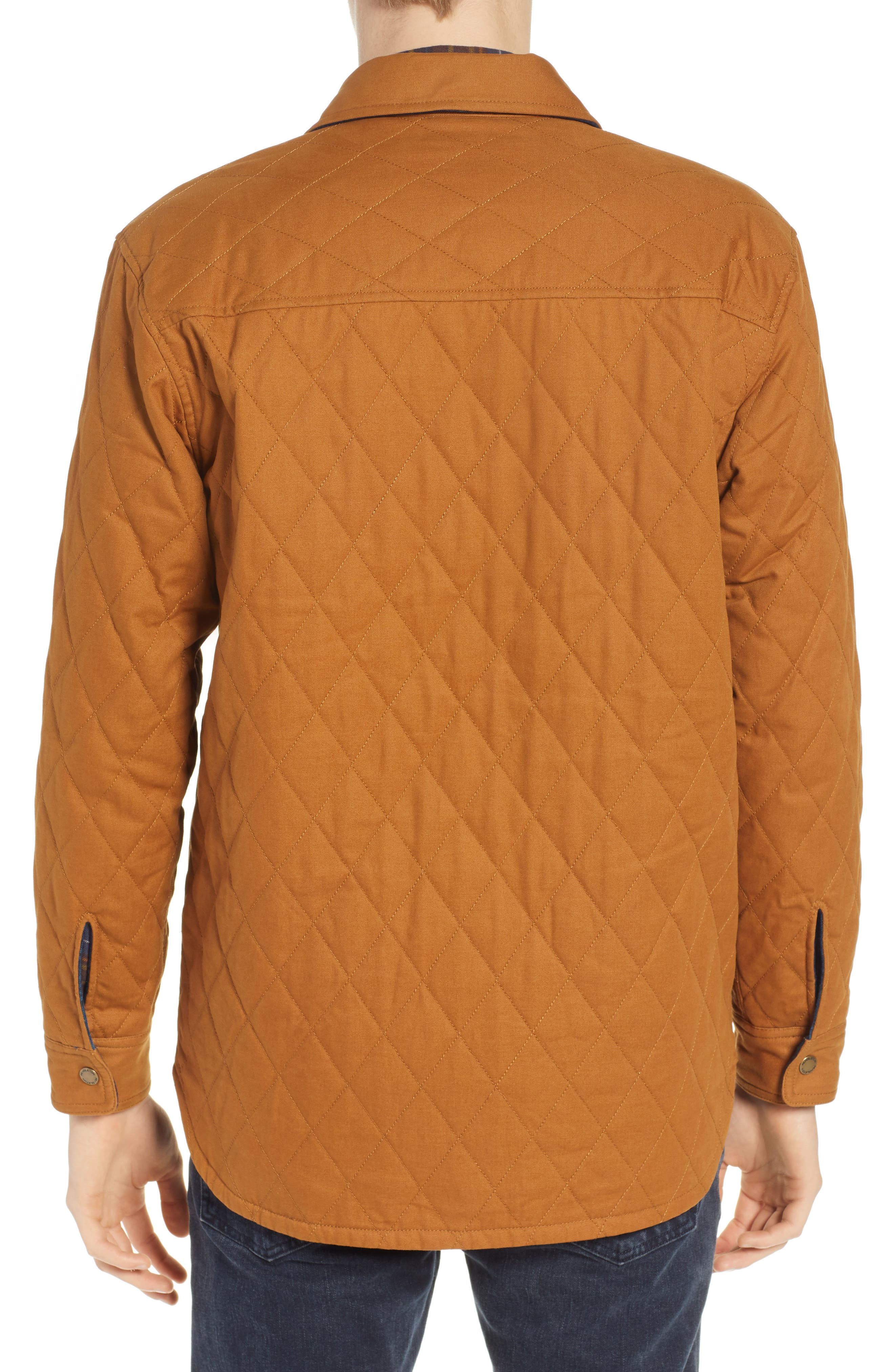 Reversible Quilted Canvas Jacket,                             Alternate thumbnail 3, color,                             212