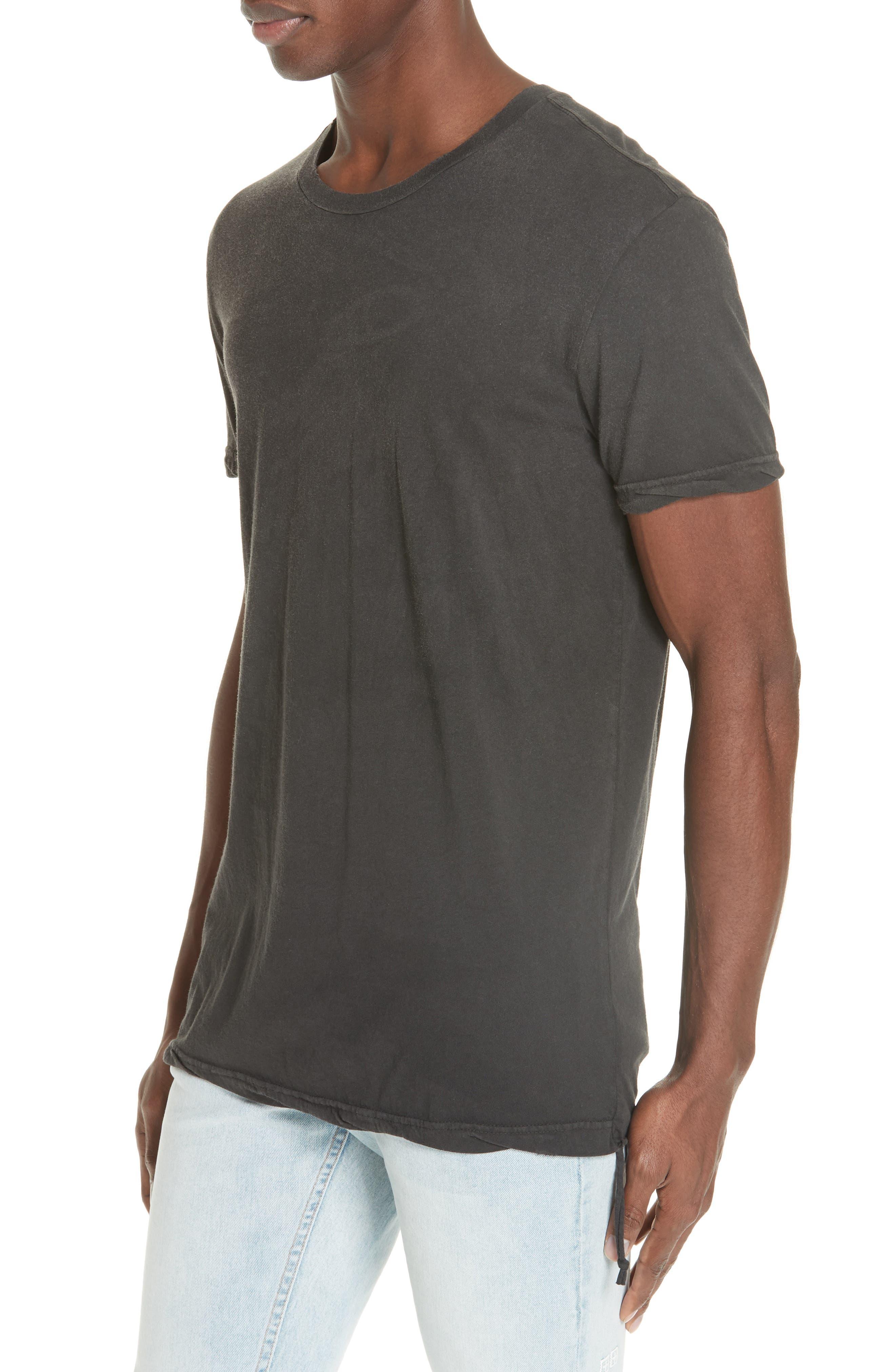 Faded T-Shirt,                             Alternate thumbnail 4, color,                             BLACK