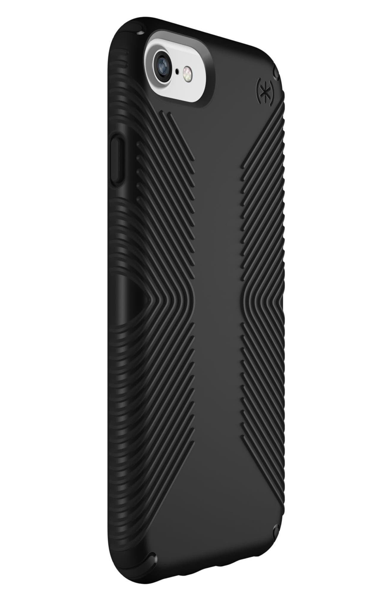 Grip iPhone 6/6s/7/8 Case,                             Alternate thumbnail 8, color,                             BLACK/ BLACK