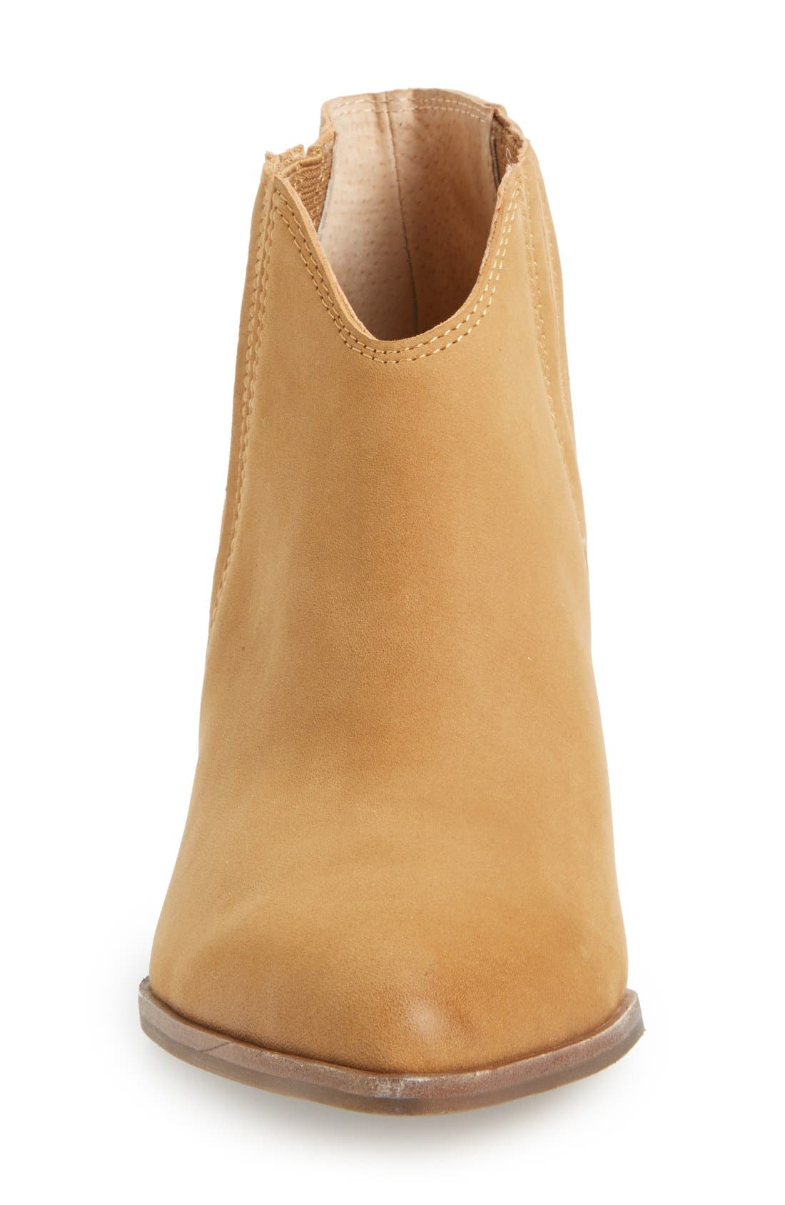 'Addie' Pointy Toe Ankle Bootie,                             Alternate thumbnail 15, color,