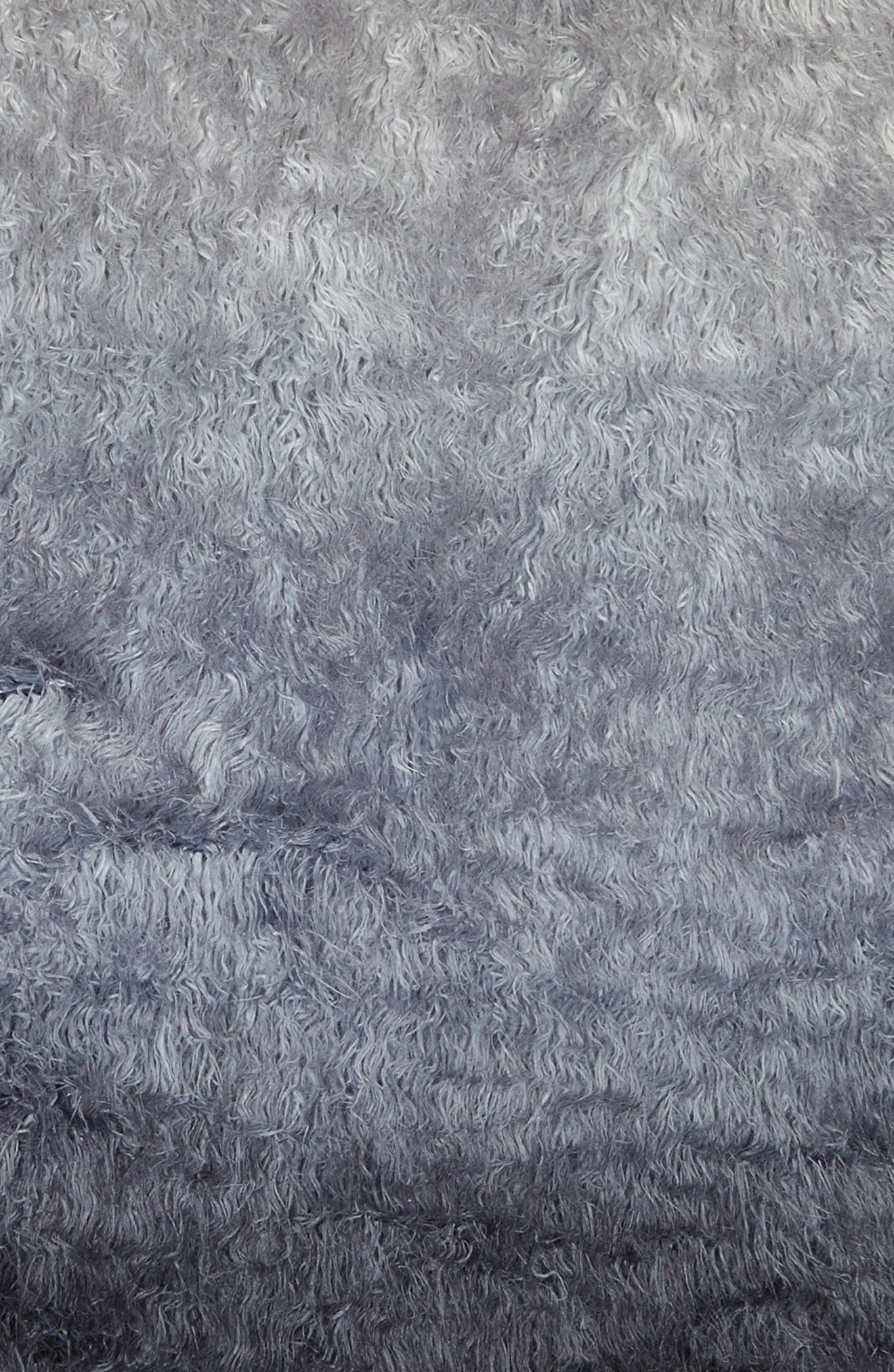 Ombré Faux Fur Rug,                             Alternate thumbnail 2, color,                             410