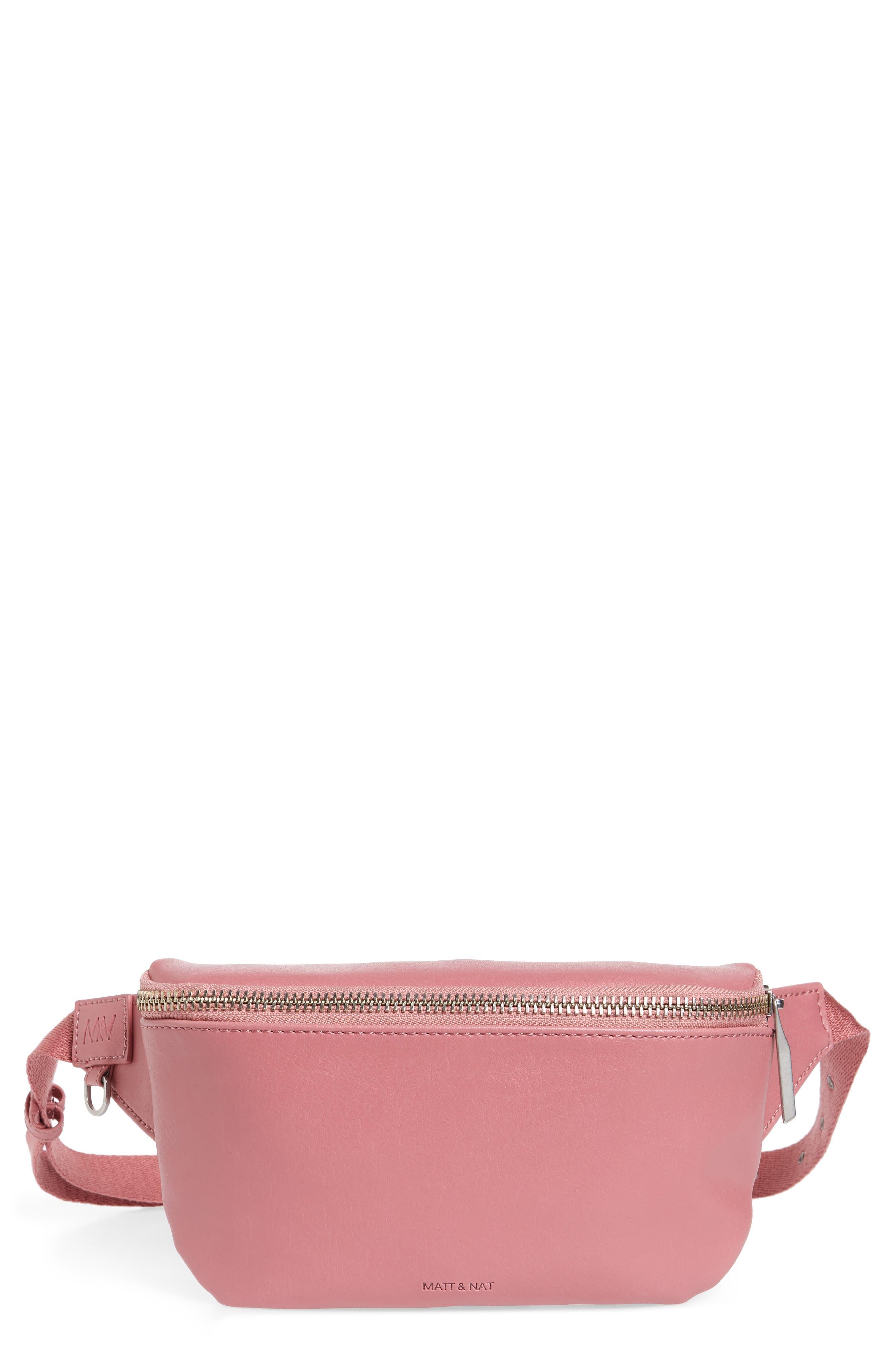Matt & Nat Vie Faux Leather Belt Bag - Pink