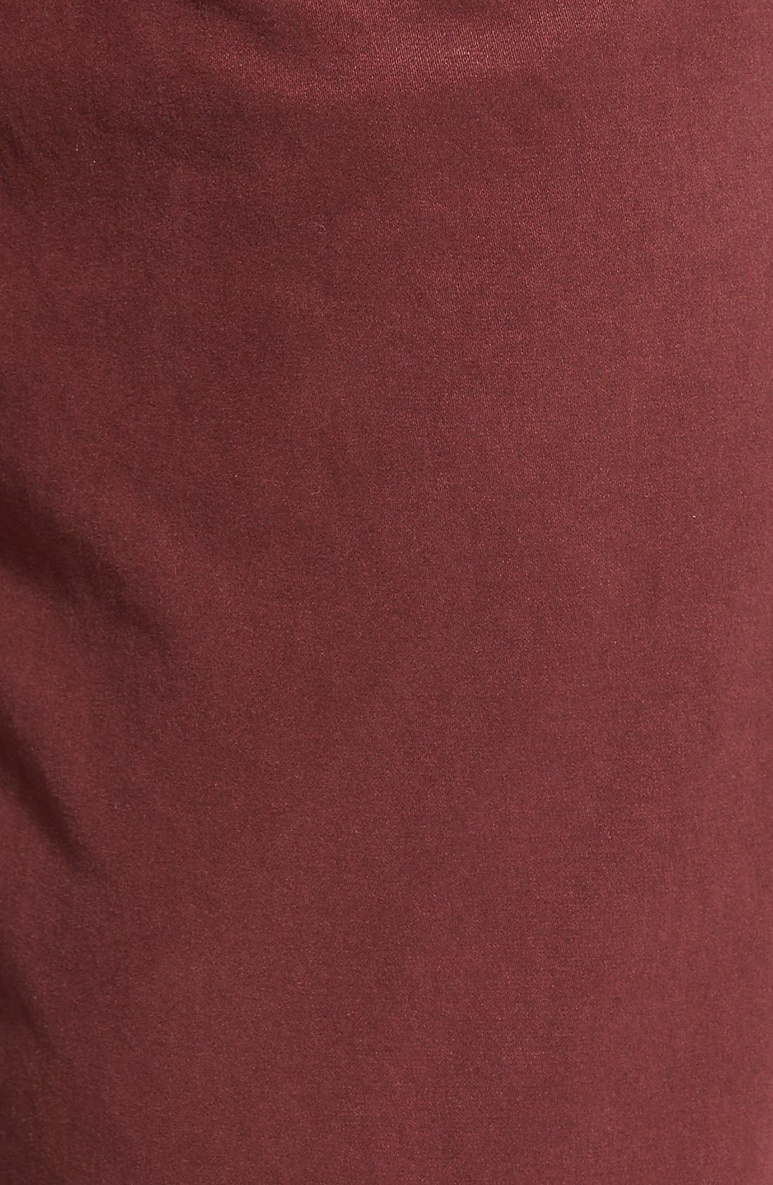 'Kane' Slim Fit Cotton Twill Pants,                             Alternate thumbnail 80, color,