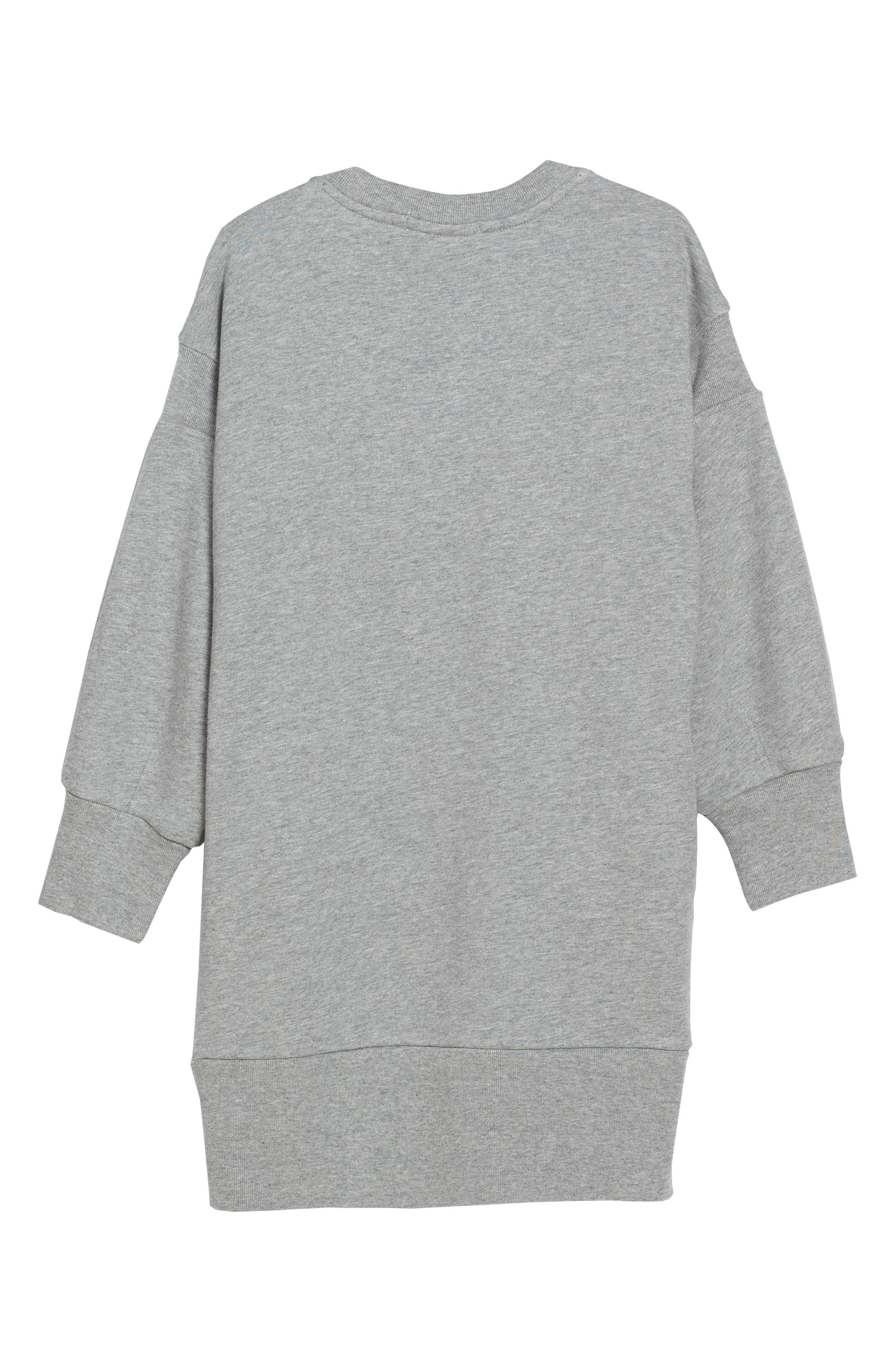 Sweatshirt Dress,                             Alternate thumbnail 2, color,                             035