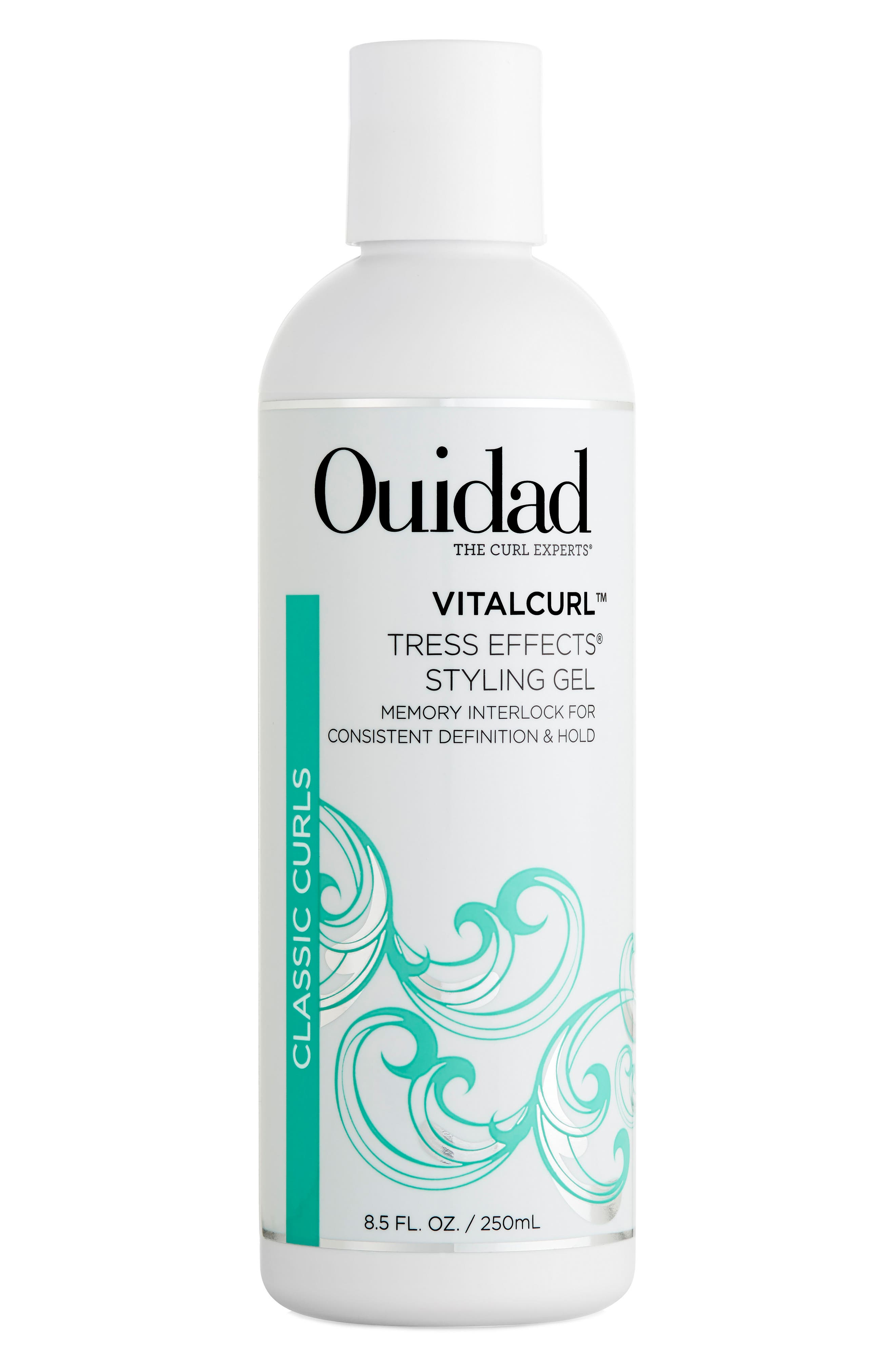 OUIDAD,                             Vitalcurl<sup>™</sup> Tress Effects Styling Gel,                             Main thumbnail 1, color,                             000