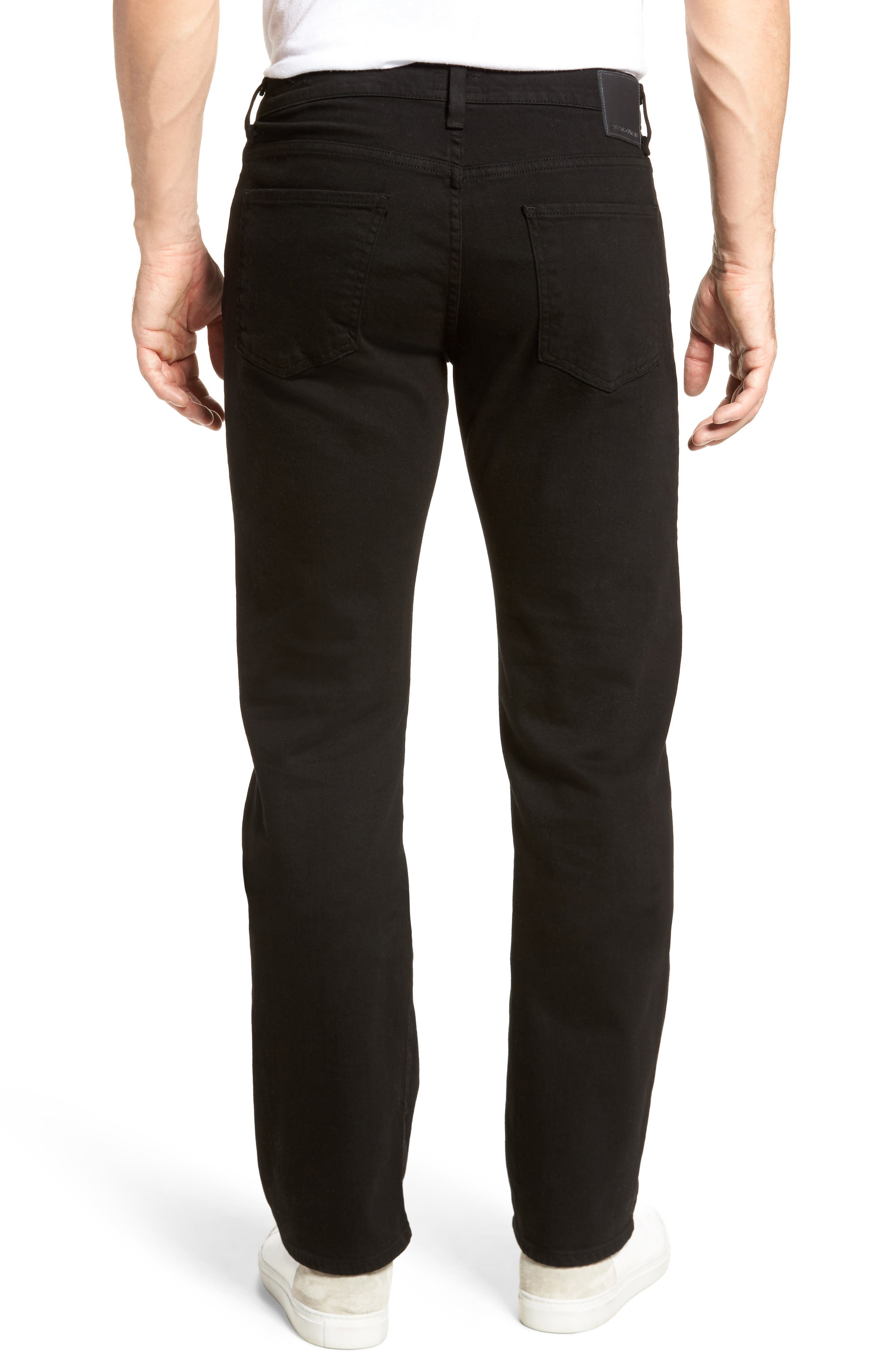 Sid Straight Fit Jeans,                             Alternate thumbnail 2, color,                             004