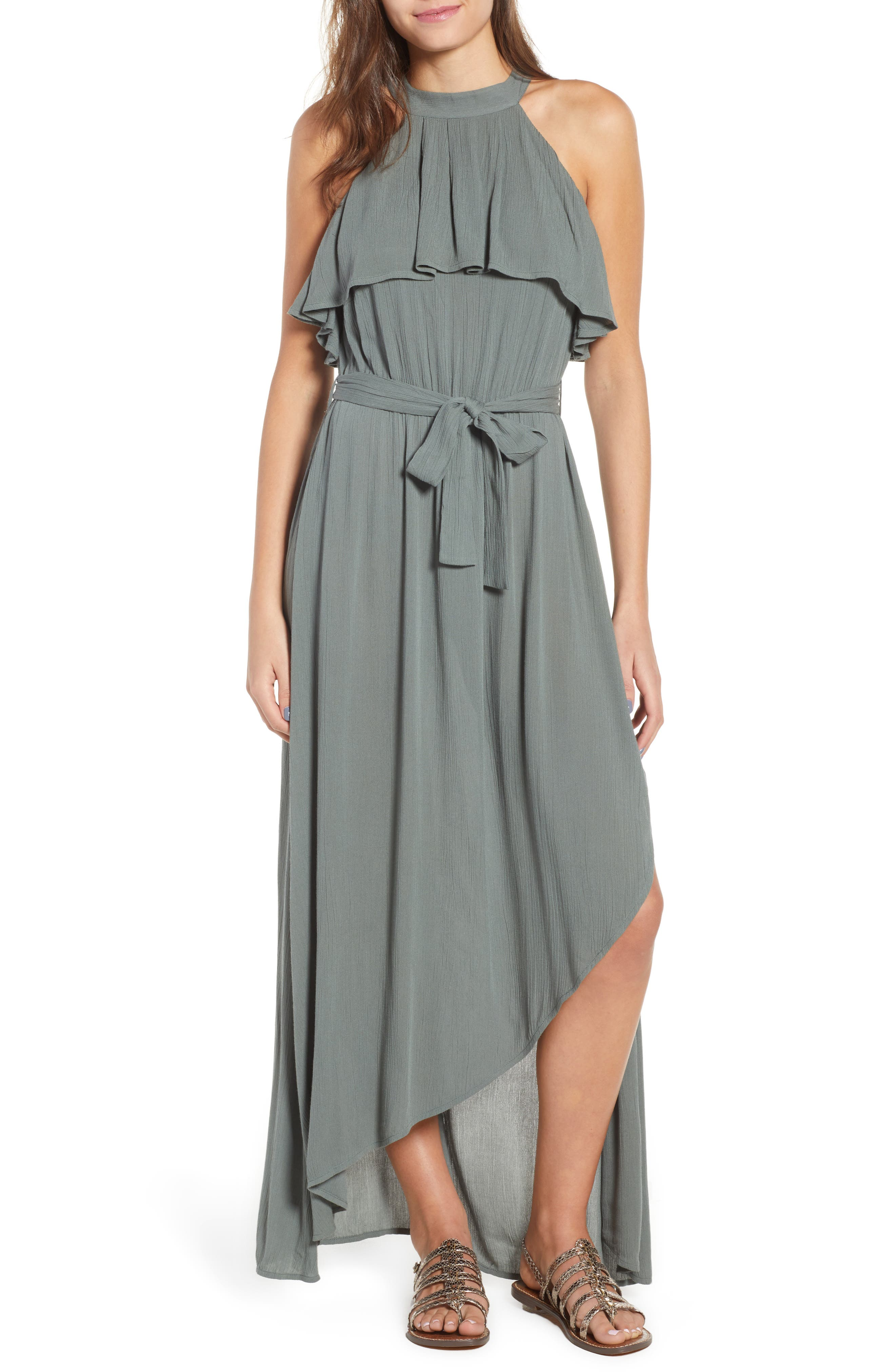 Misty Asymmetrical Dress,                             Main thumbnail 1, color,                             300