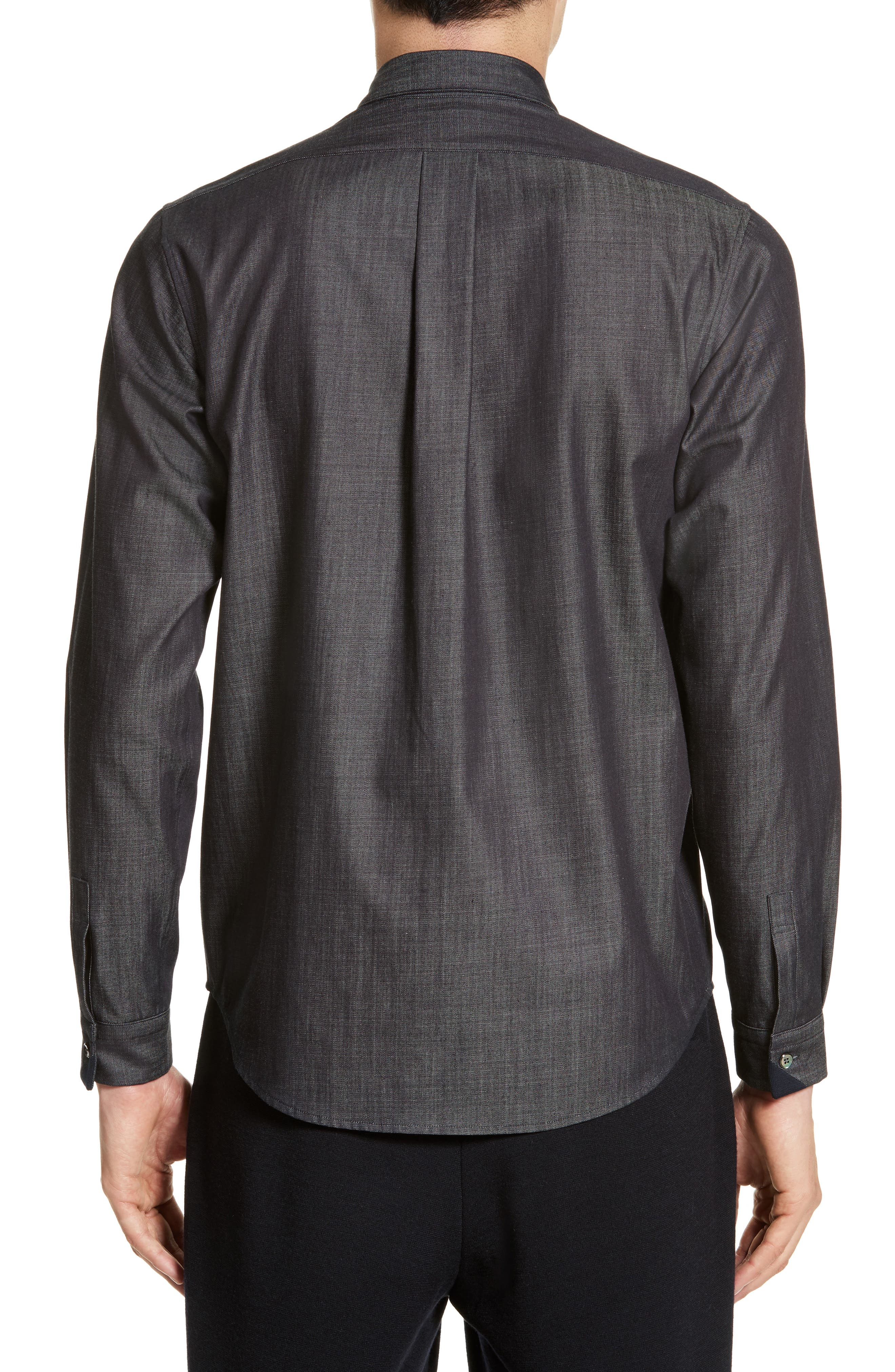 Tricot Stripe Sport Shirt,                             Alternate thumbnail 2, color,                             400