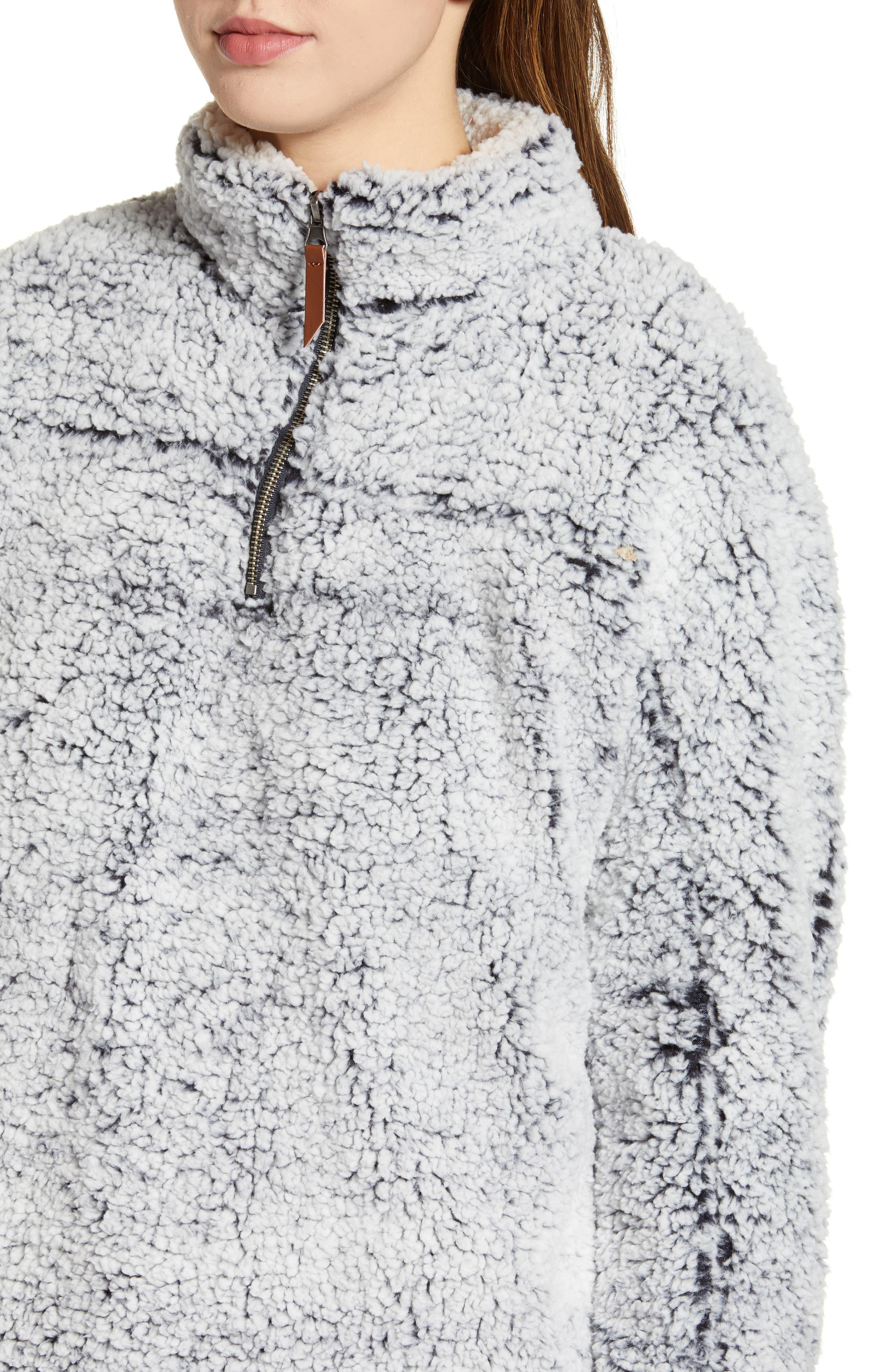 Wubby Fleece Pullover,                             Alternate thumbnail 4, color,                             INDIGO
