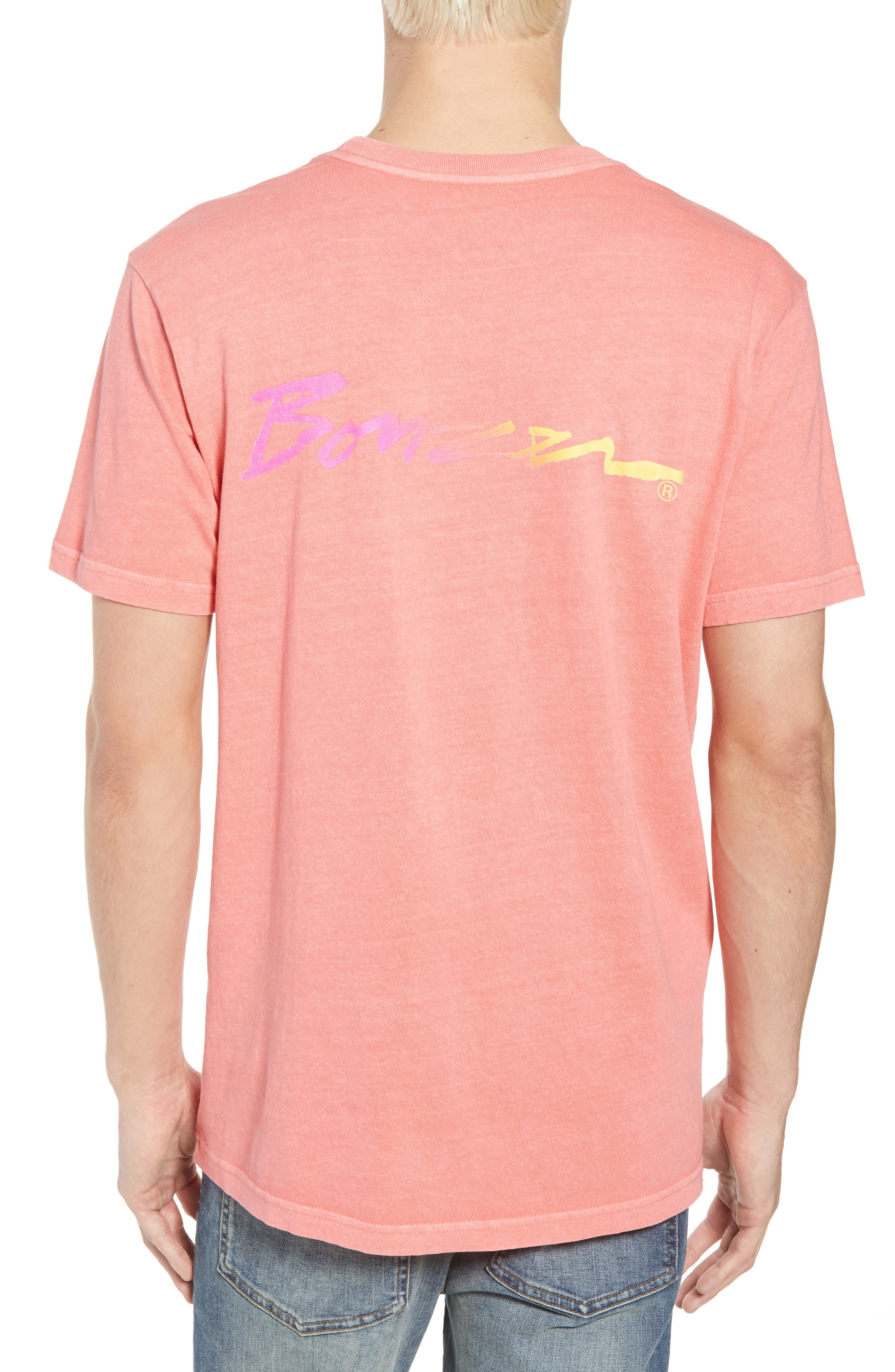 Campbell Brothers T-Shirt,                             Alternate thumbnail 2, color,                             PINK