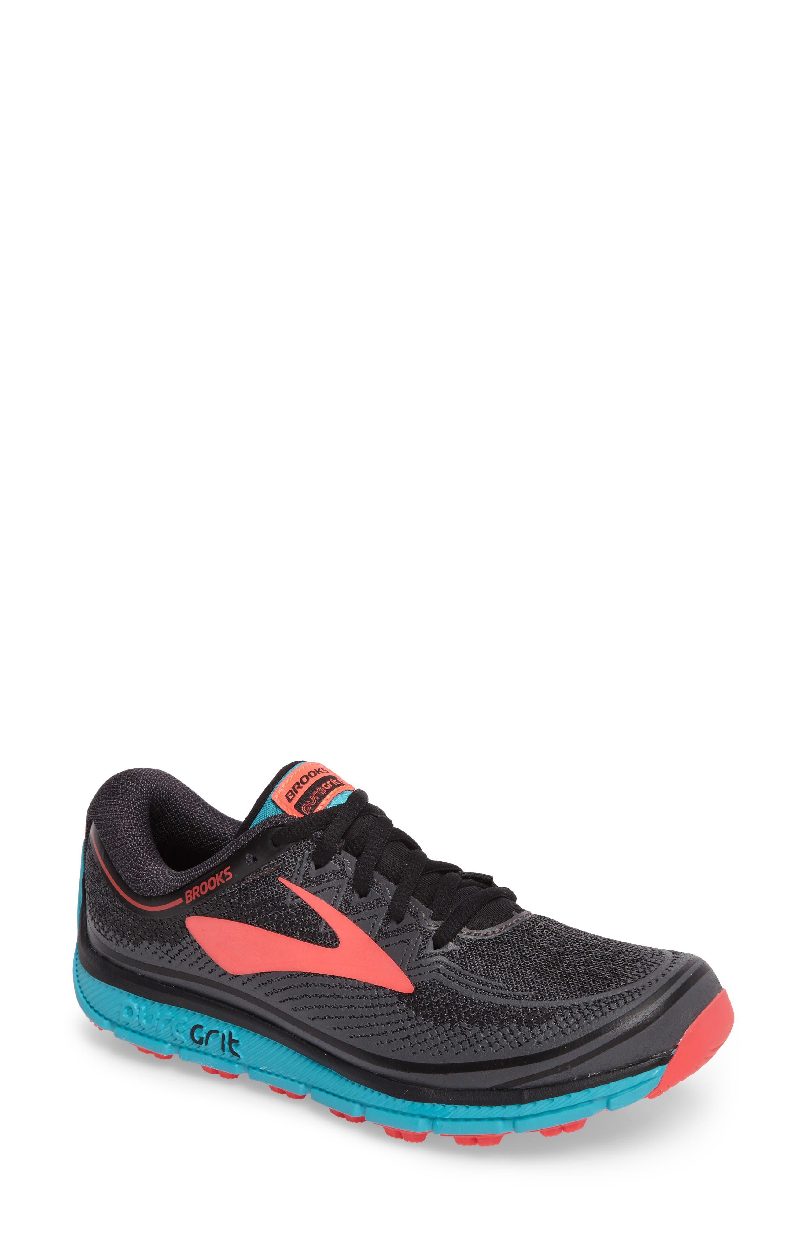 PureGrit 6 Trail Running Shoe,                             Main thumbnail 1, color,                             014