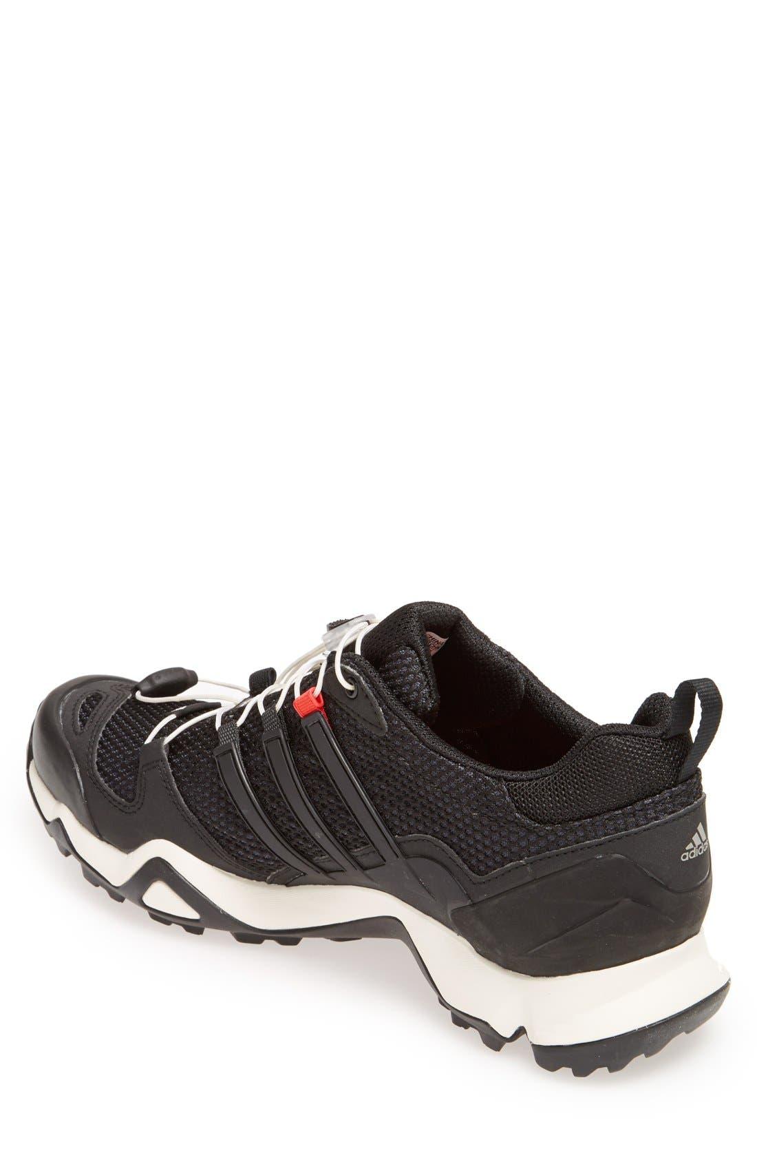 'Terrex Swift R' Hiking Shoe,                             Alternate thumbnail 4, color,                             001