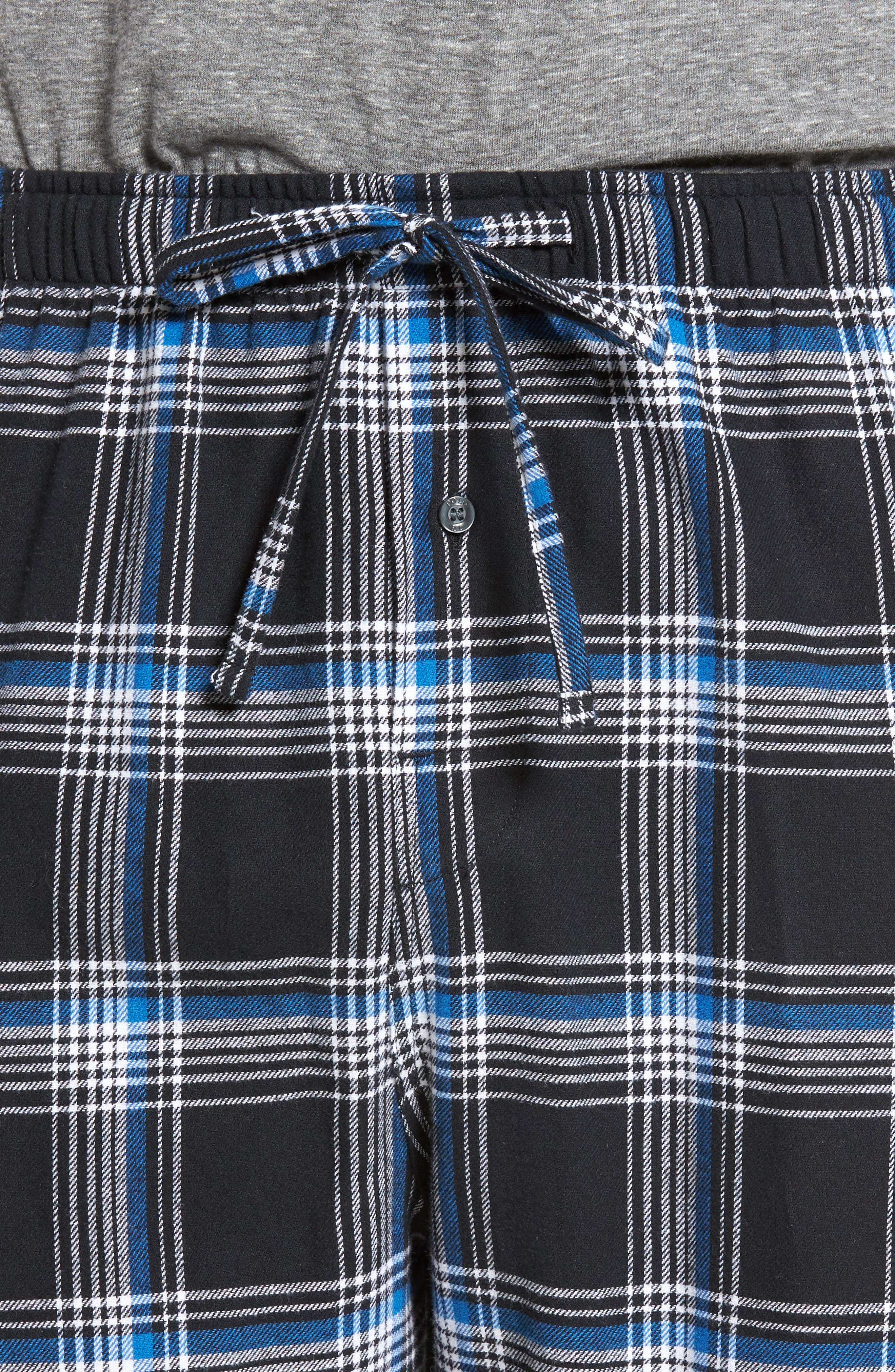 Flannel Pajama Pants,                             Alternate thumbnail 45, color,