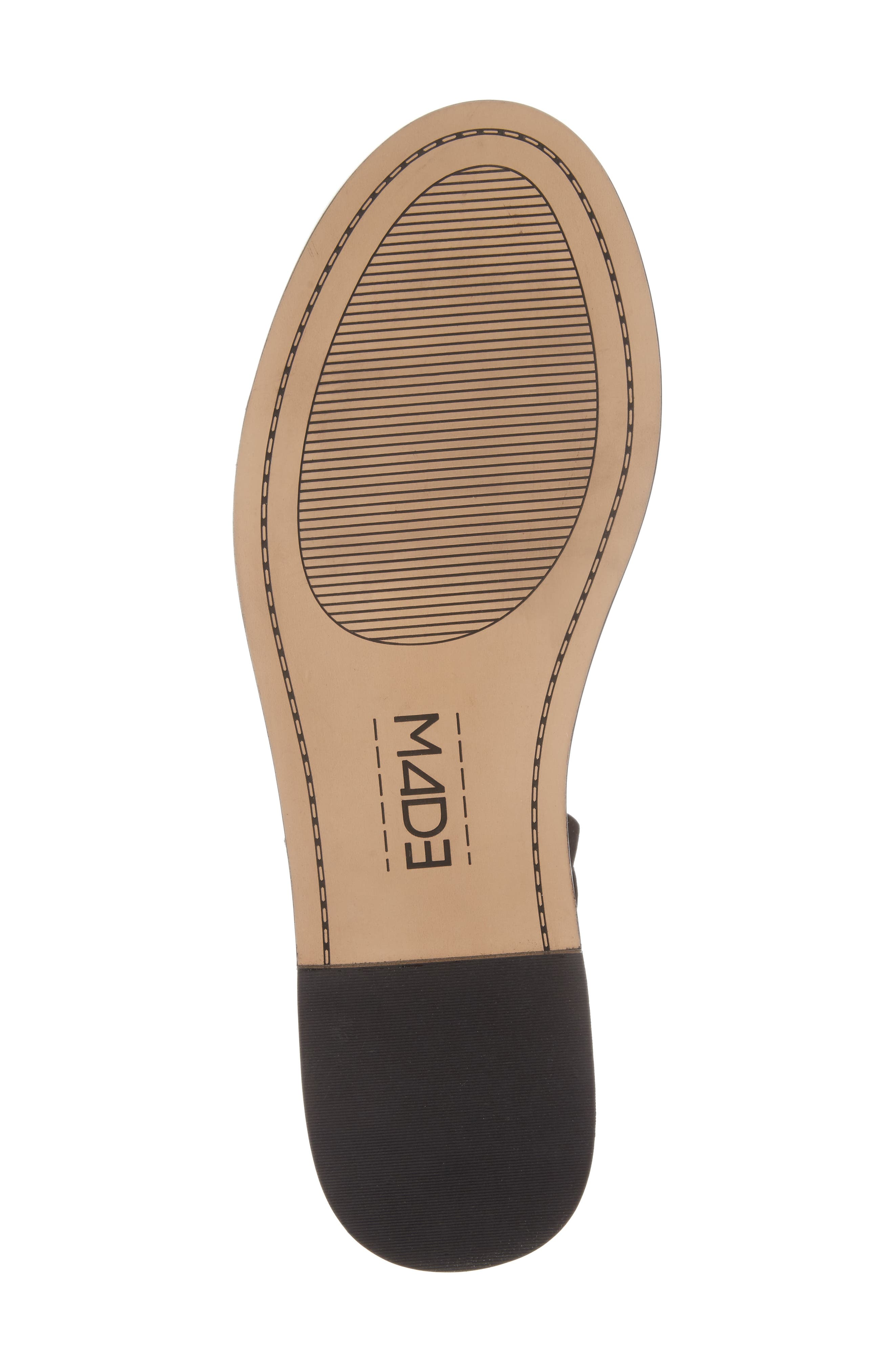 M4D3 Hailey Slingback Sandal,                             Alternate thumbnail 6, color,                             001