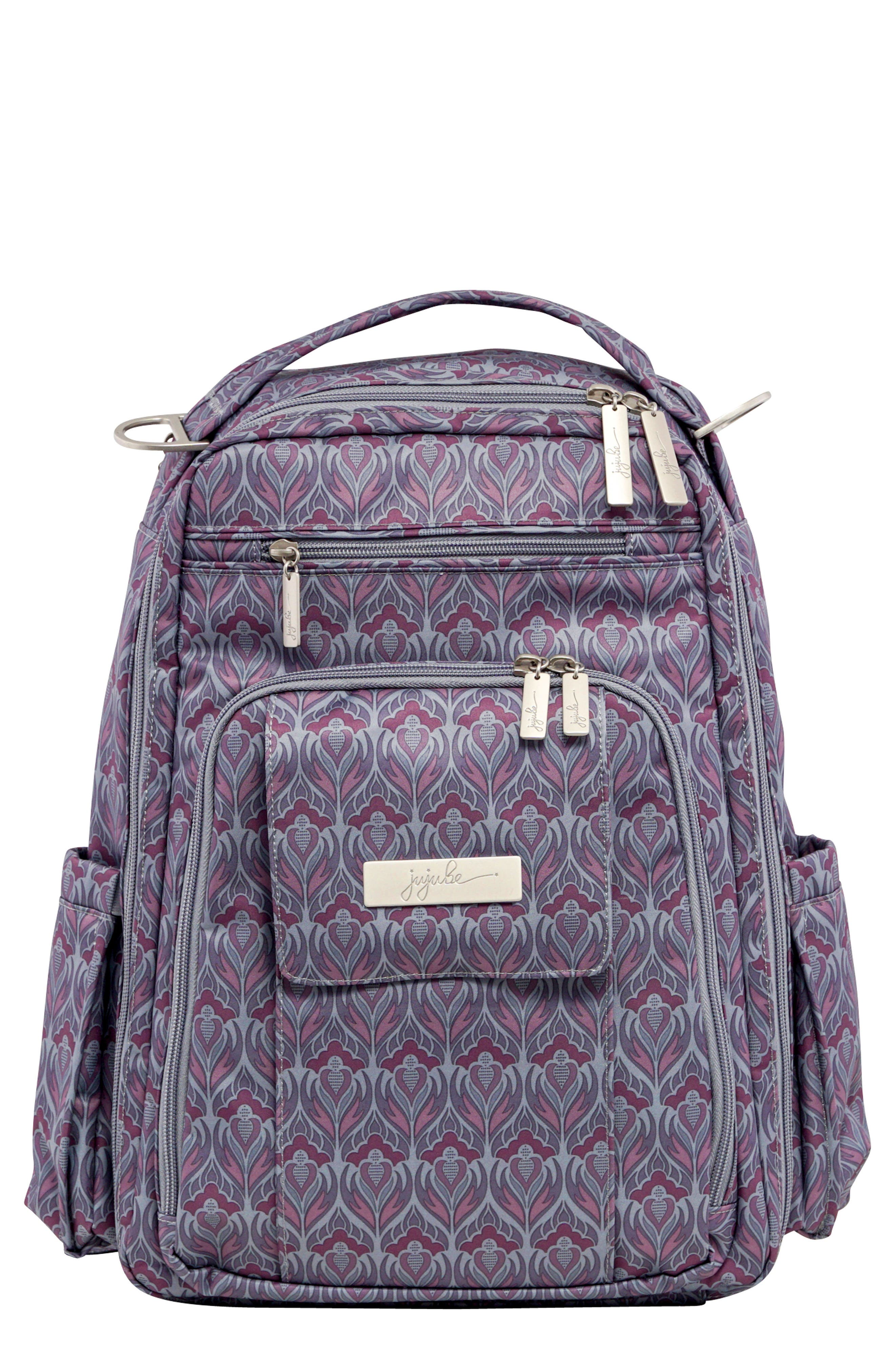 'Be Right Back' Diaper Backpack,                         Main,                         color, AMETHYST ICE
