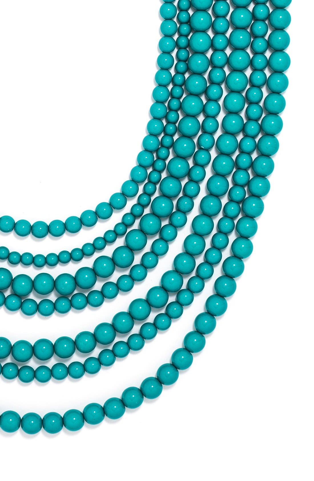 'Bold' Multistrand Beaded Statement Necklace,                             Alternate thumbnail 24, color,