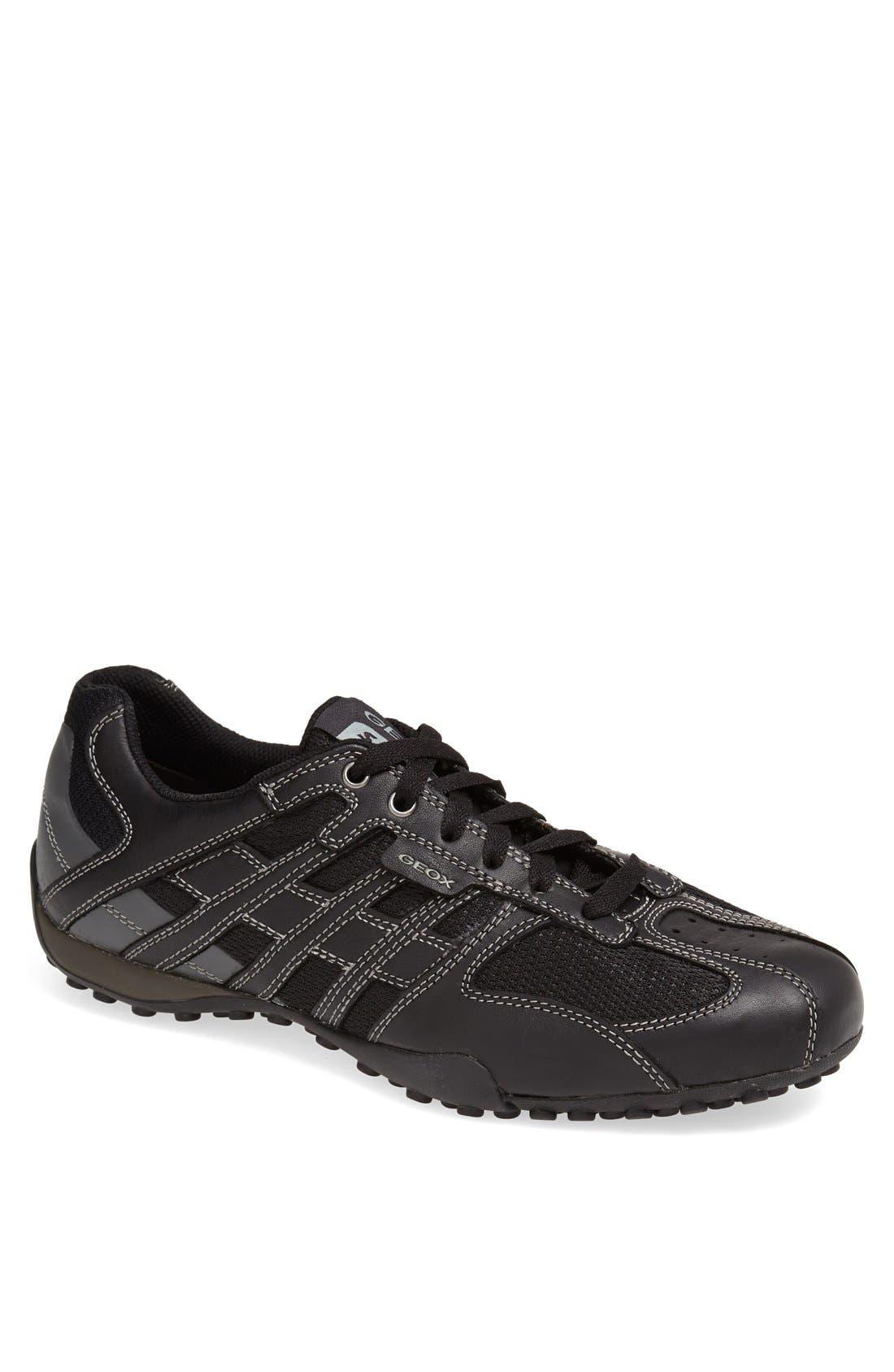 'Snake 95' Sneaker,                             Main thumbnail 1, color,                             BLACK/ LEAD