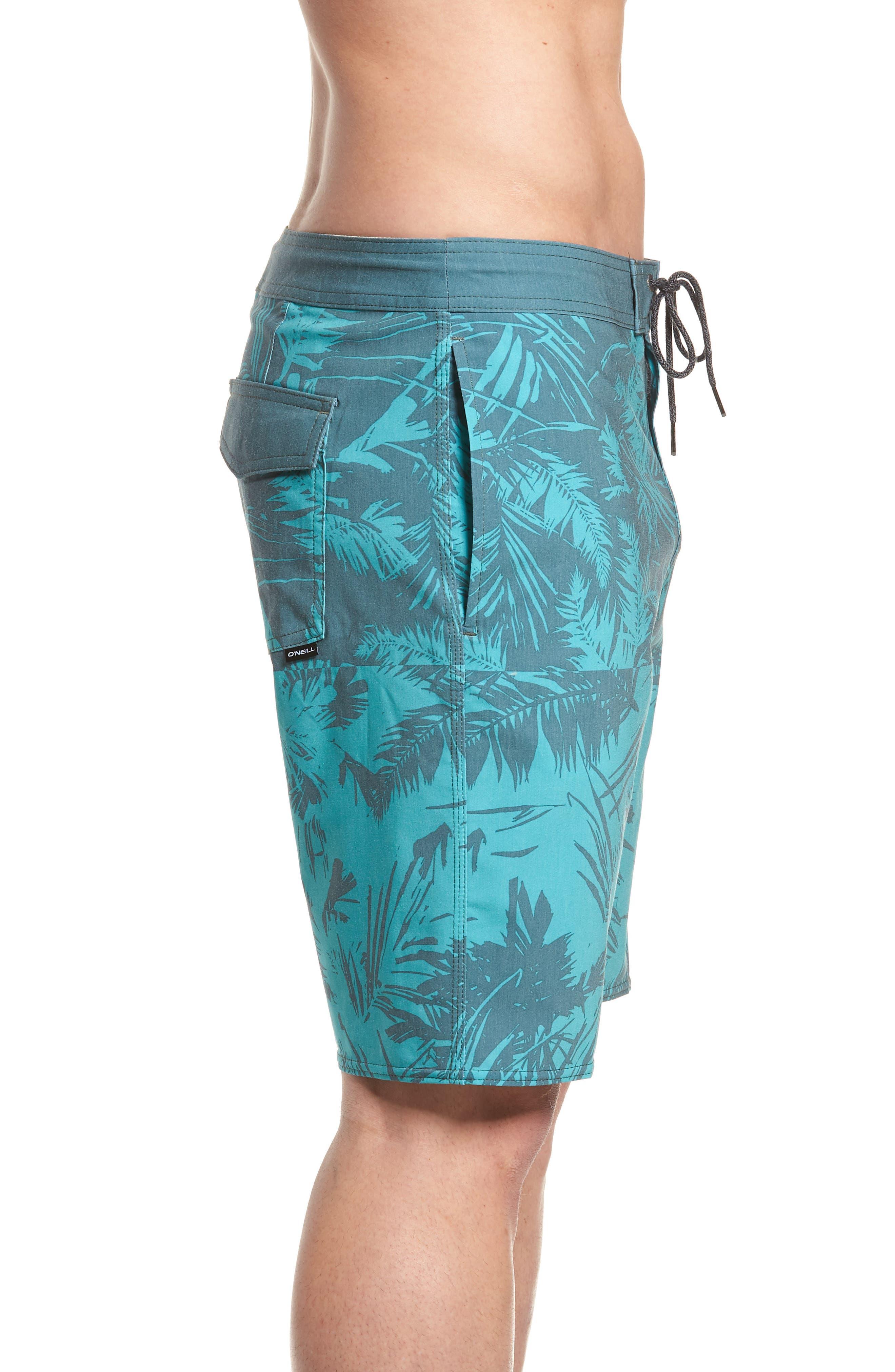 Inverted Cruzer Board Shorts,                             Alternate thumbnail 3, color,                             440