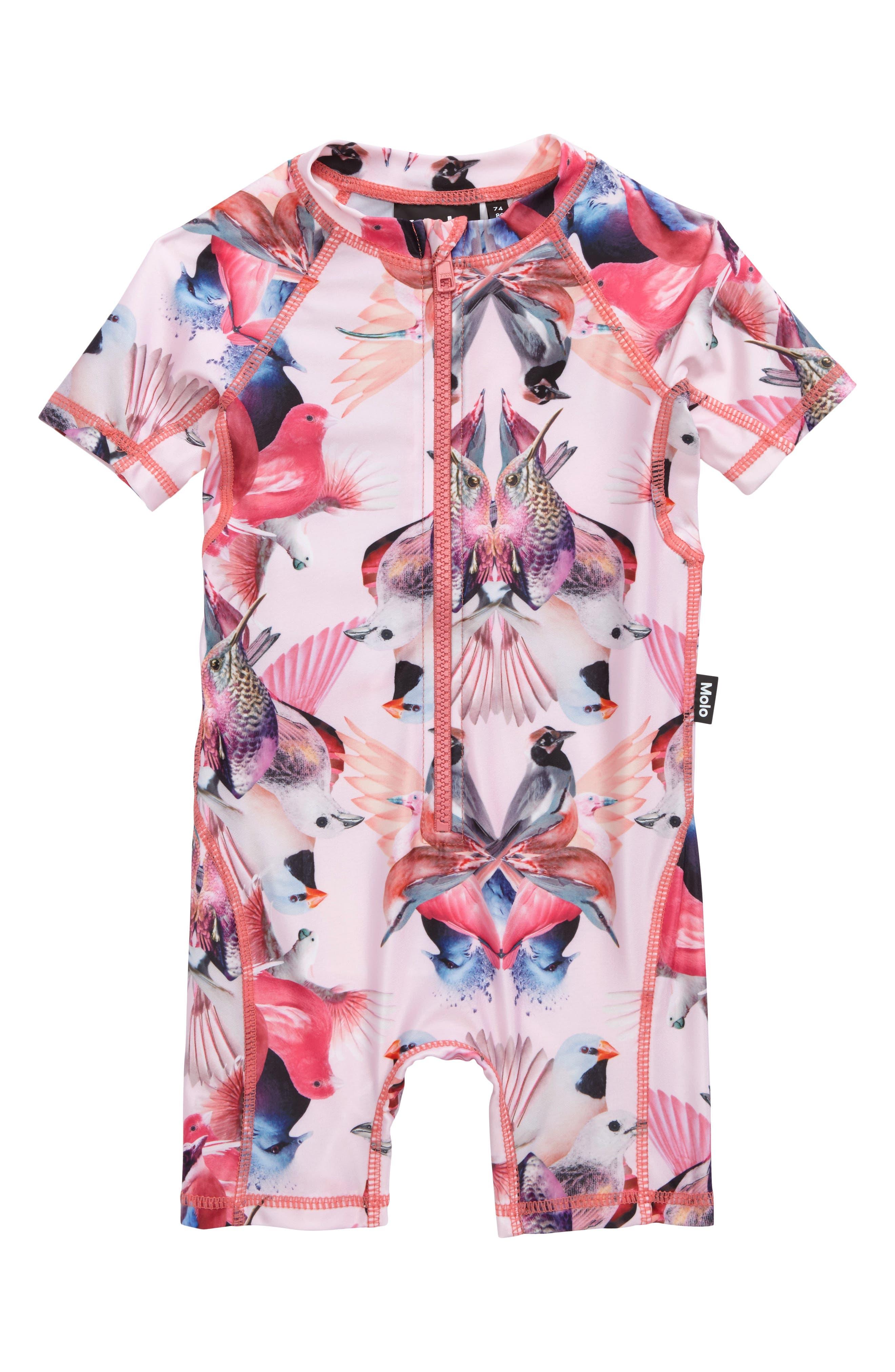 Neka One-Piece Rashguard Swimsuit,                             Main thumbnail 2, color,
