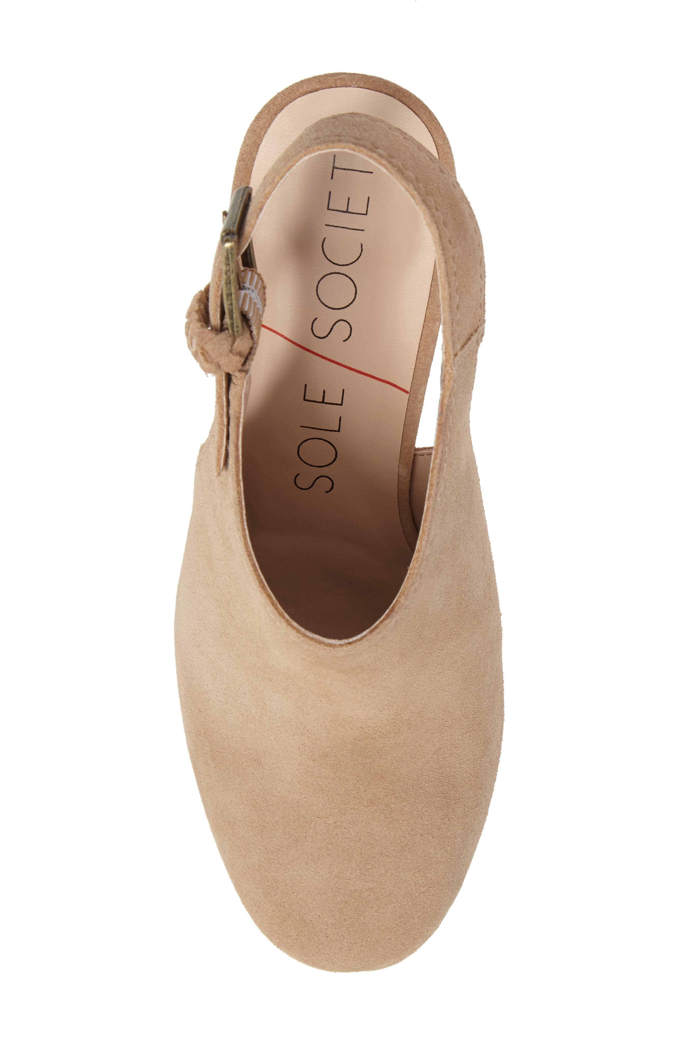 Apollo Slingback Bootie,                             Alternate thumbnail 5, color,                             230