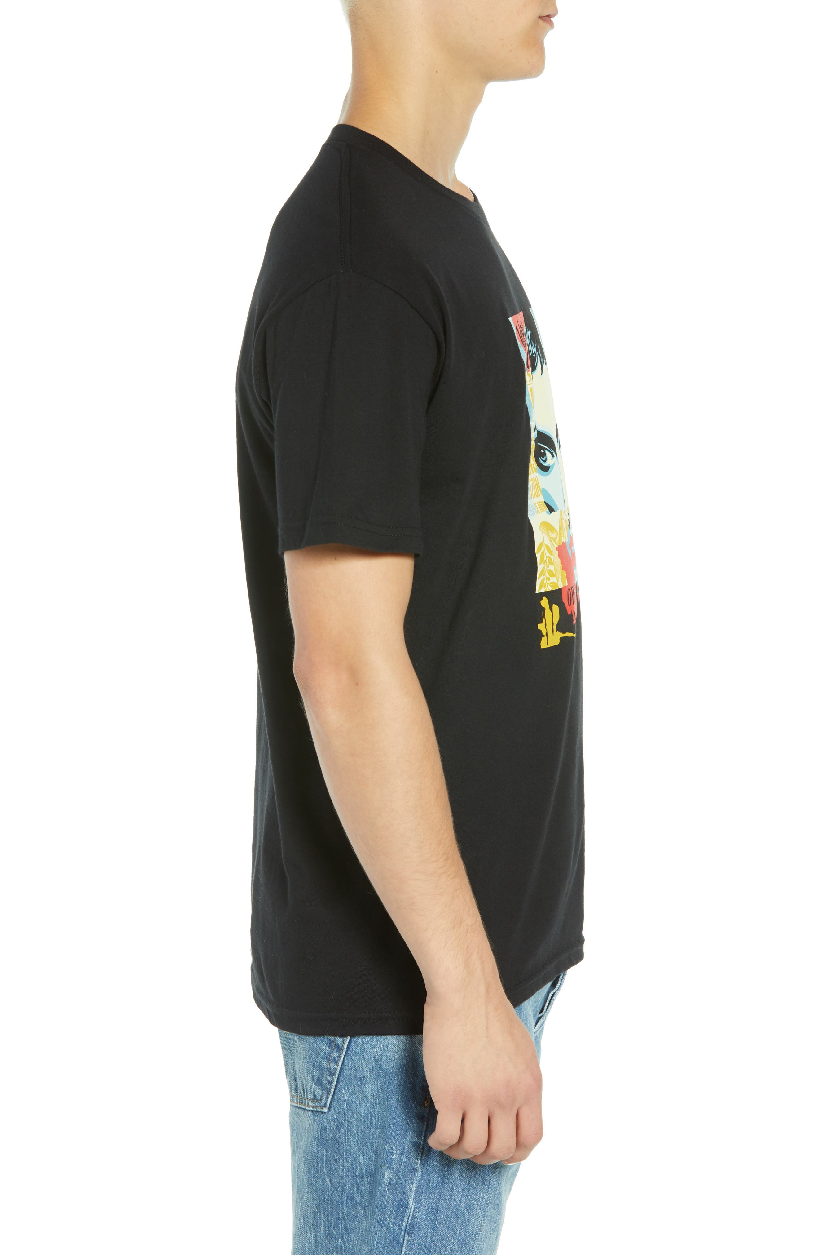 Ideal Power Premium T-Shirt,                             Alternate thumbnail 3, color,                             BLACK