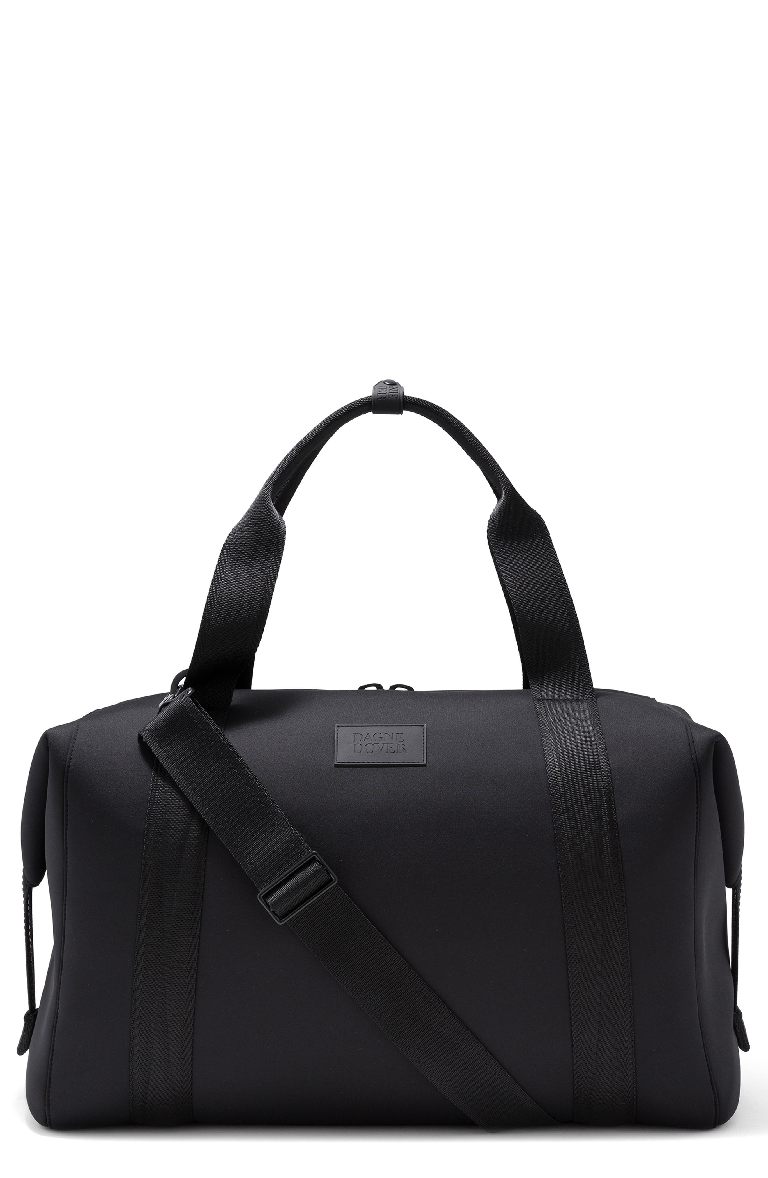 DAGNE DOVER Xl Landon Carryall Duffel Bag - Black in Onyx