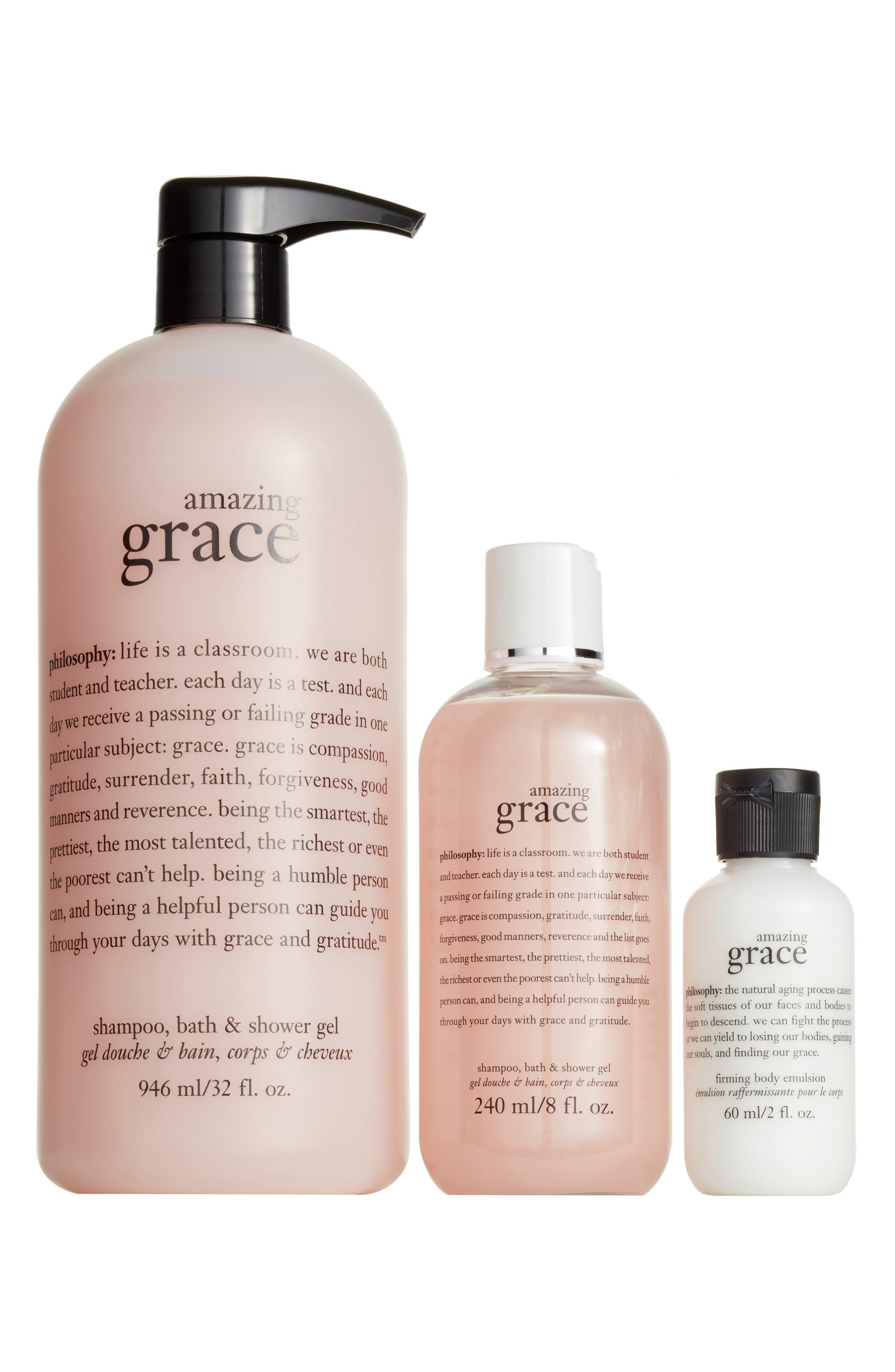 amazing grace trio,                             Main thumbnail 1, color,                             000