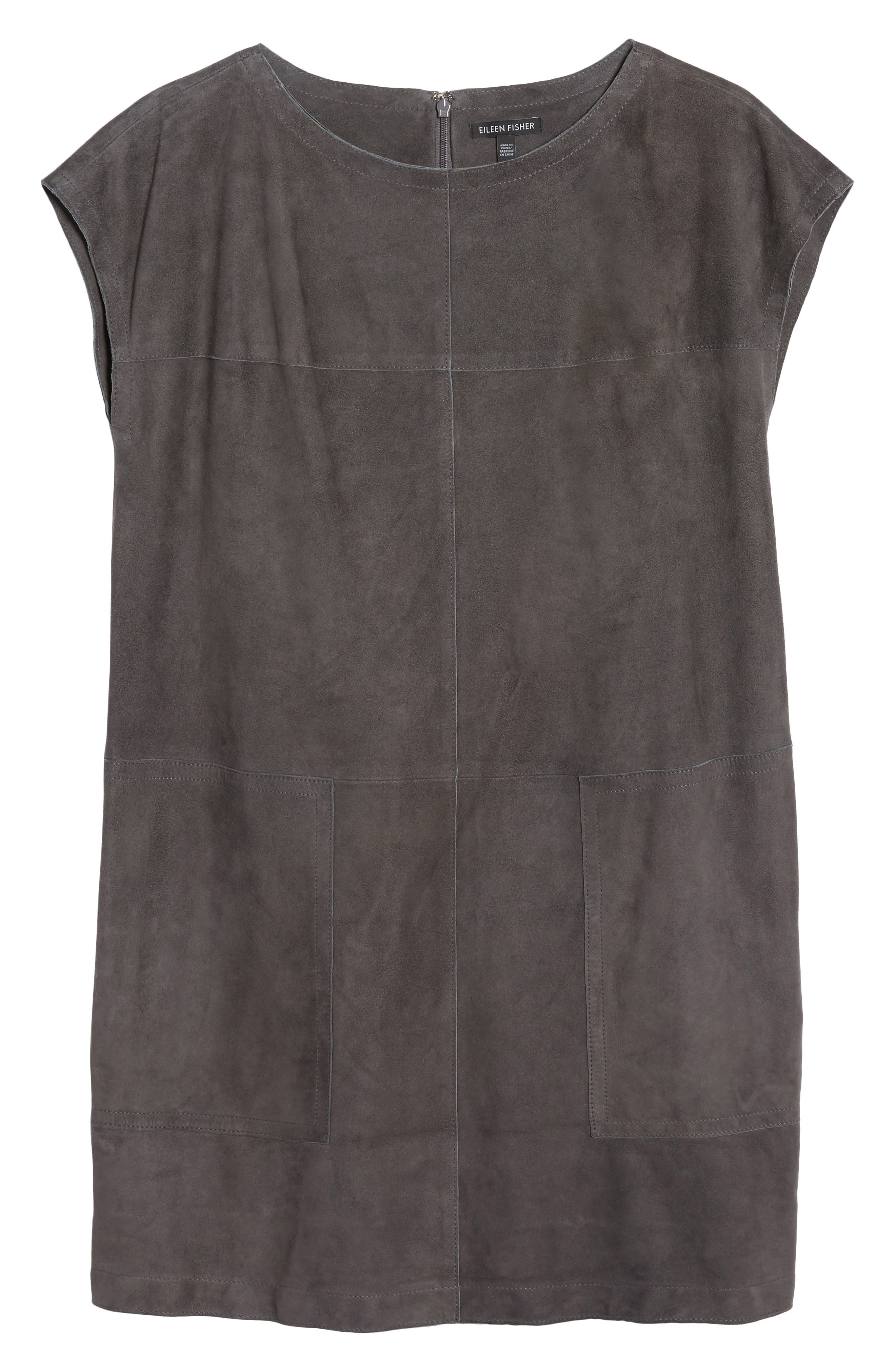Suede Tunic,                             Alternate thumbnail 6, color,                             210