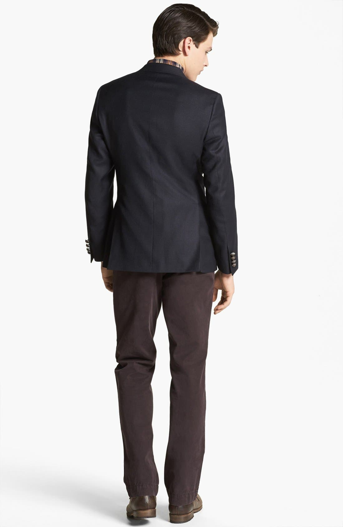 BILLY REID,                             'Campbell' Wool Sportcoat,                             Alternate thumbnail 5, color,                             410