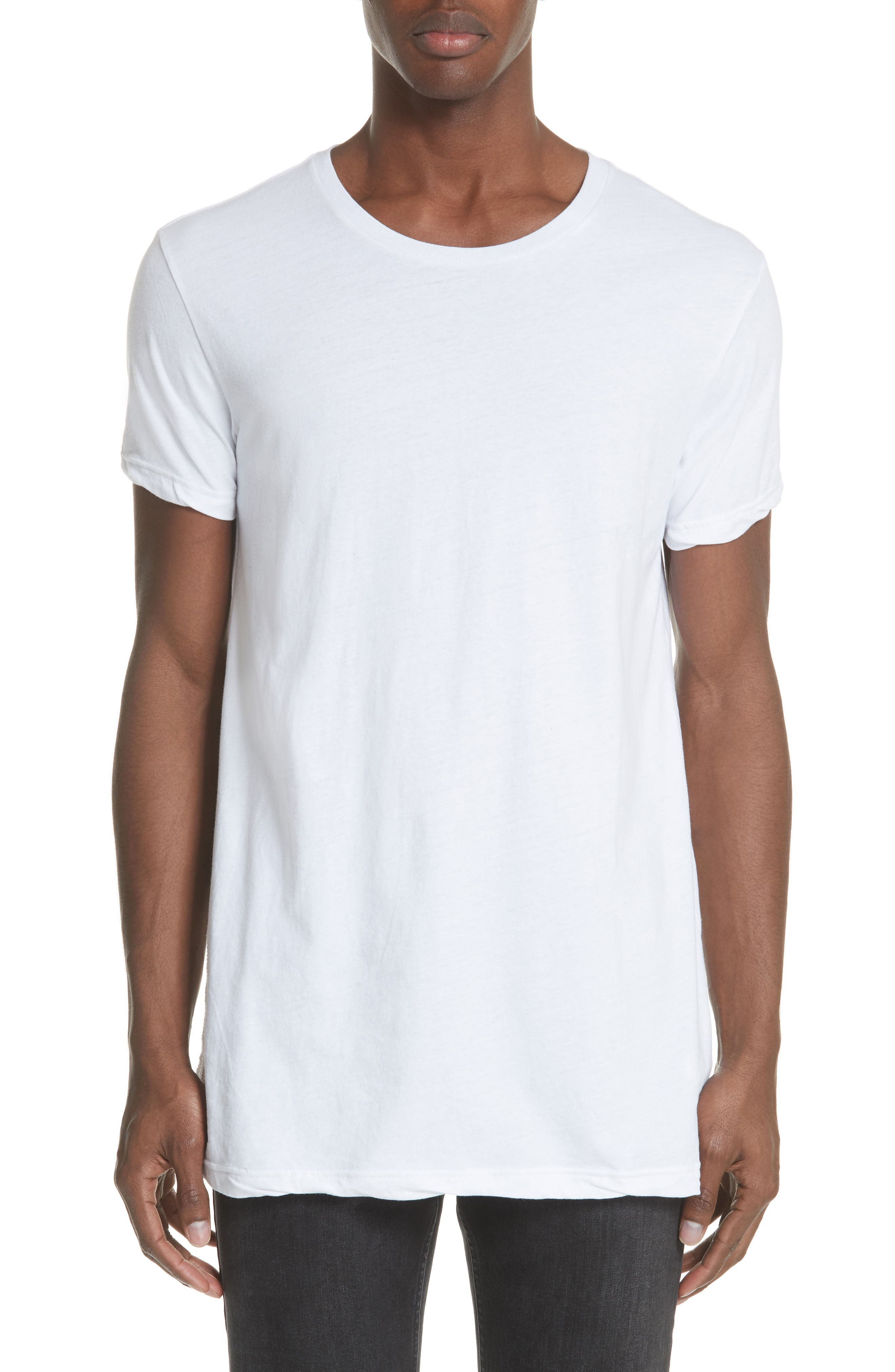 Seeing Lines T-Shirt,                             Main thumbnail 1, color,                             WHITE