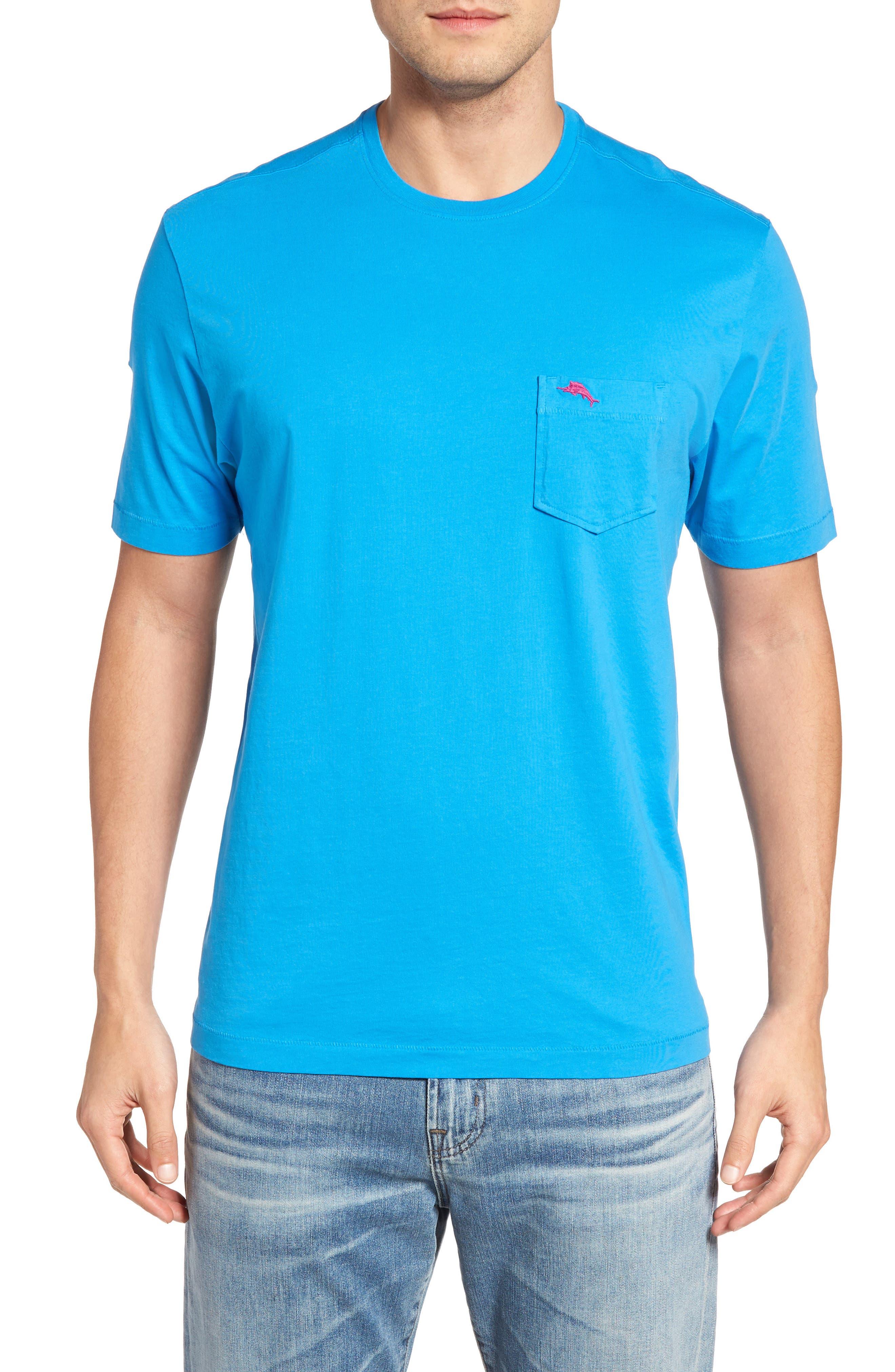 New Bali Sky Pima Cotton Pocket T-Shirt,                             Main thumbnail 40, color,