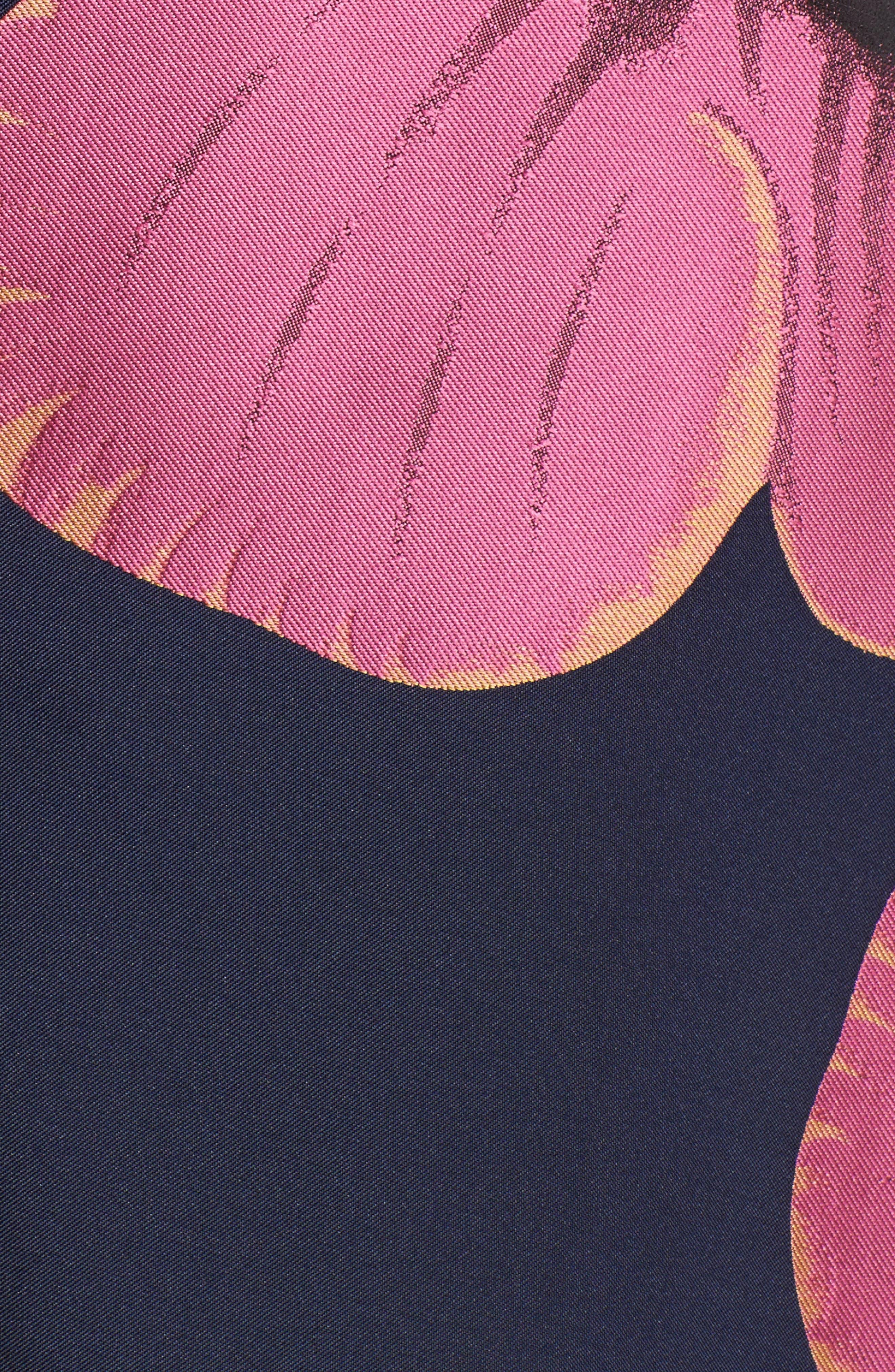 Serena Jacquard Midi Dress,                             Alternate thumbnail 5, color,                             464