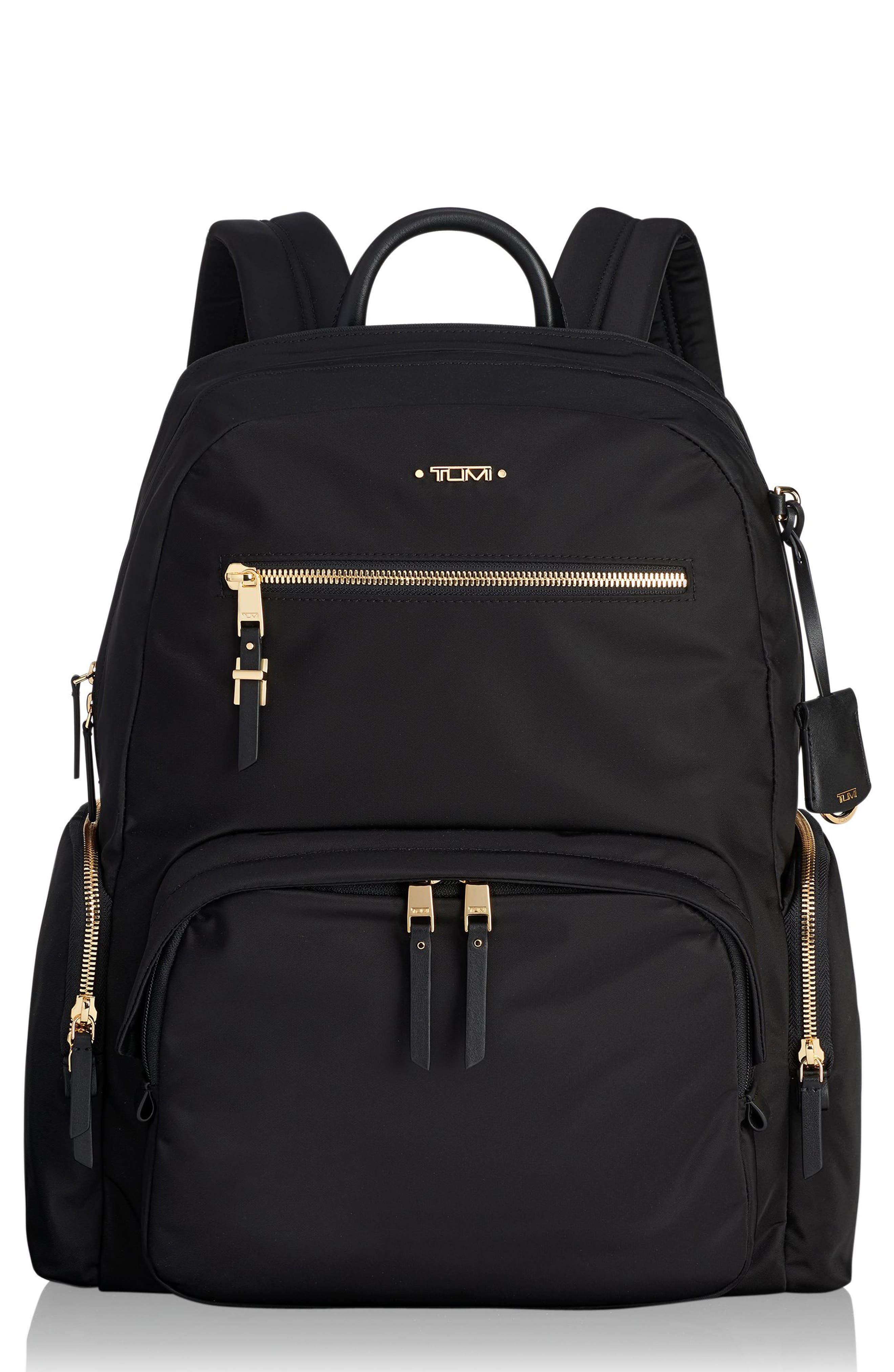 Voyager Carson Nylon Backpack - Beige in Mink