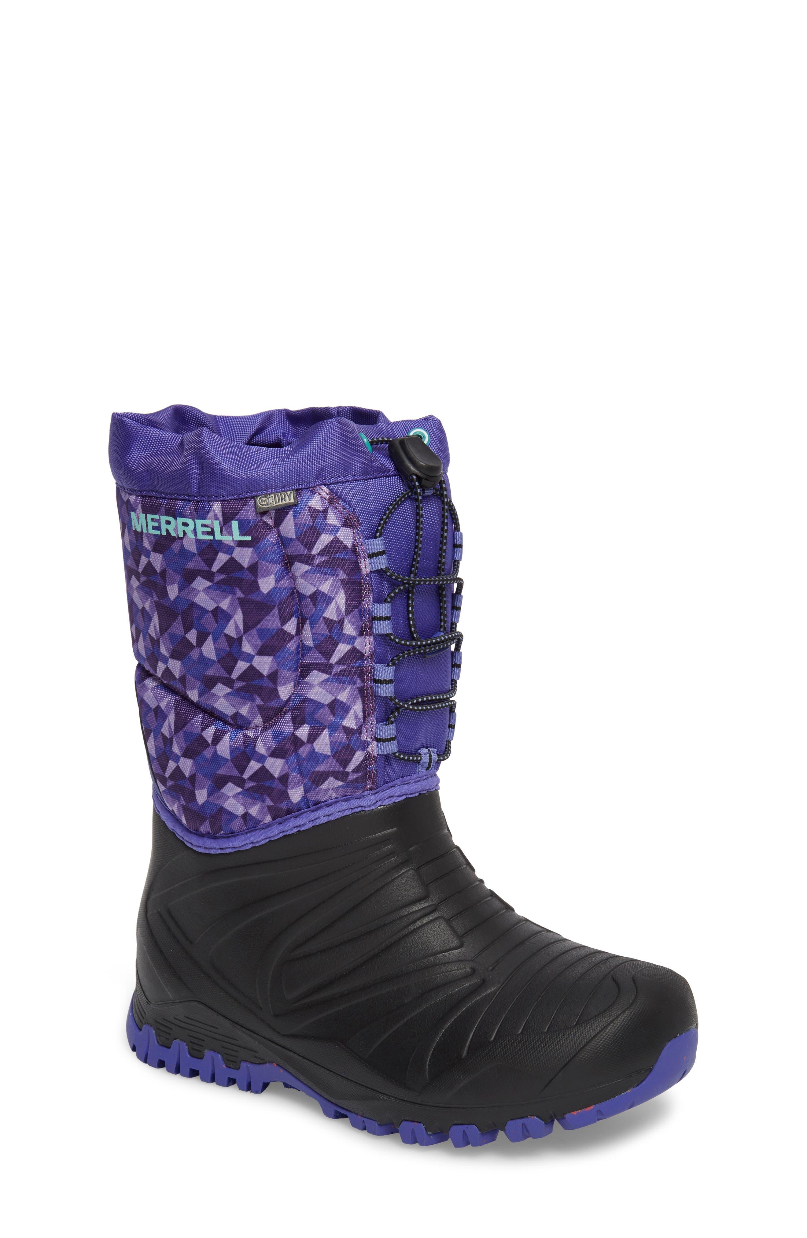 Snow Quest Lite Waterproof Boot,                             Main thumbnail 1, color,                             002