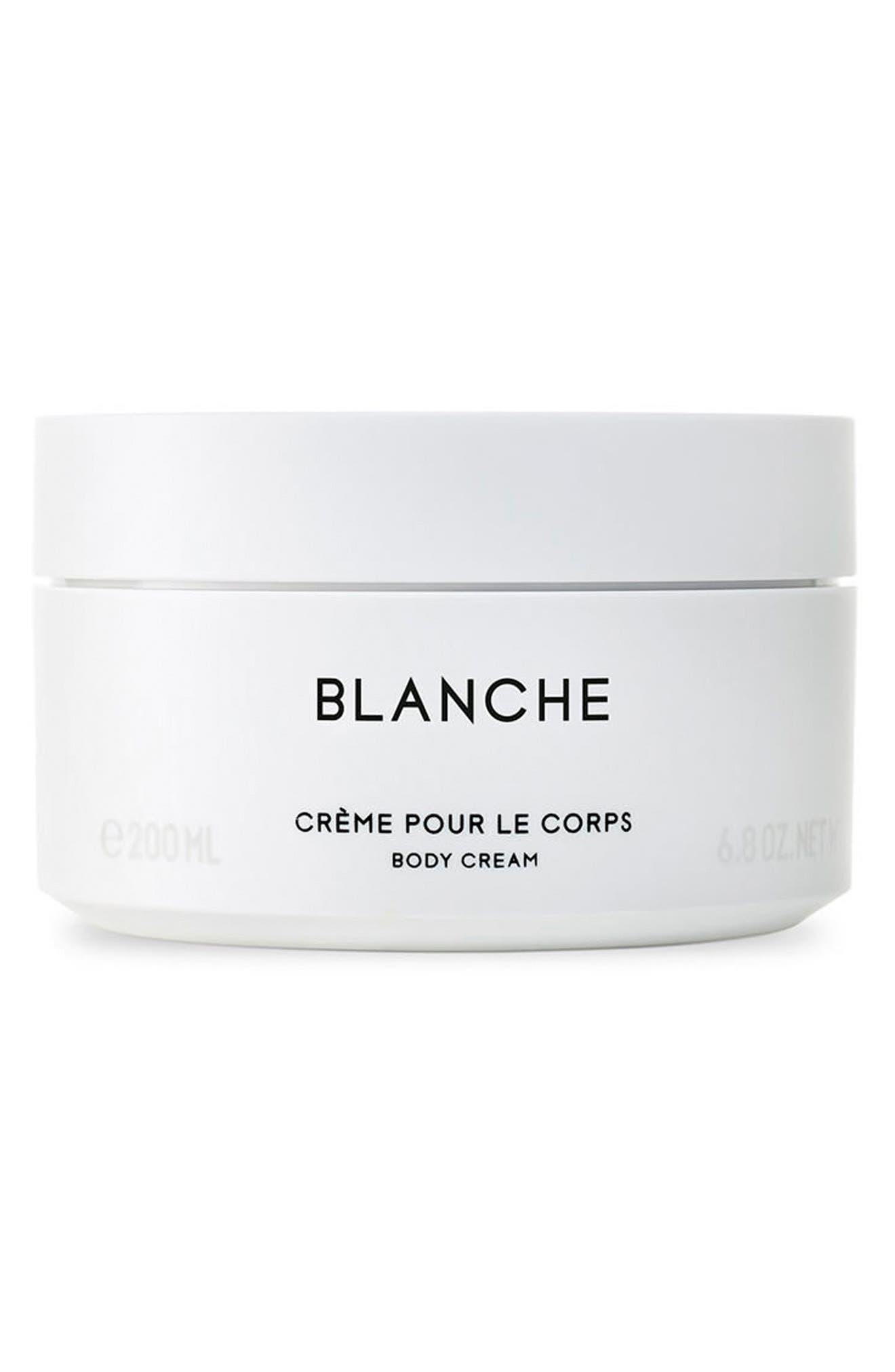 Blanche Body Cream,                             Main thumbnail 1, color,                             NO COLOR